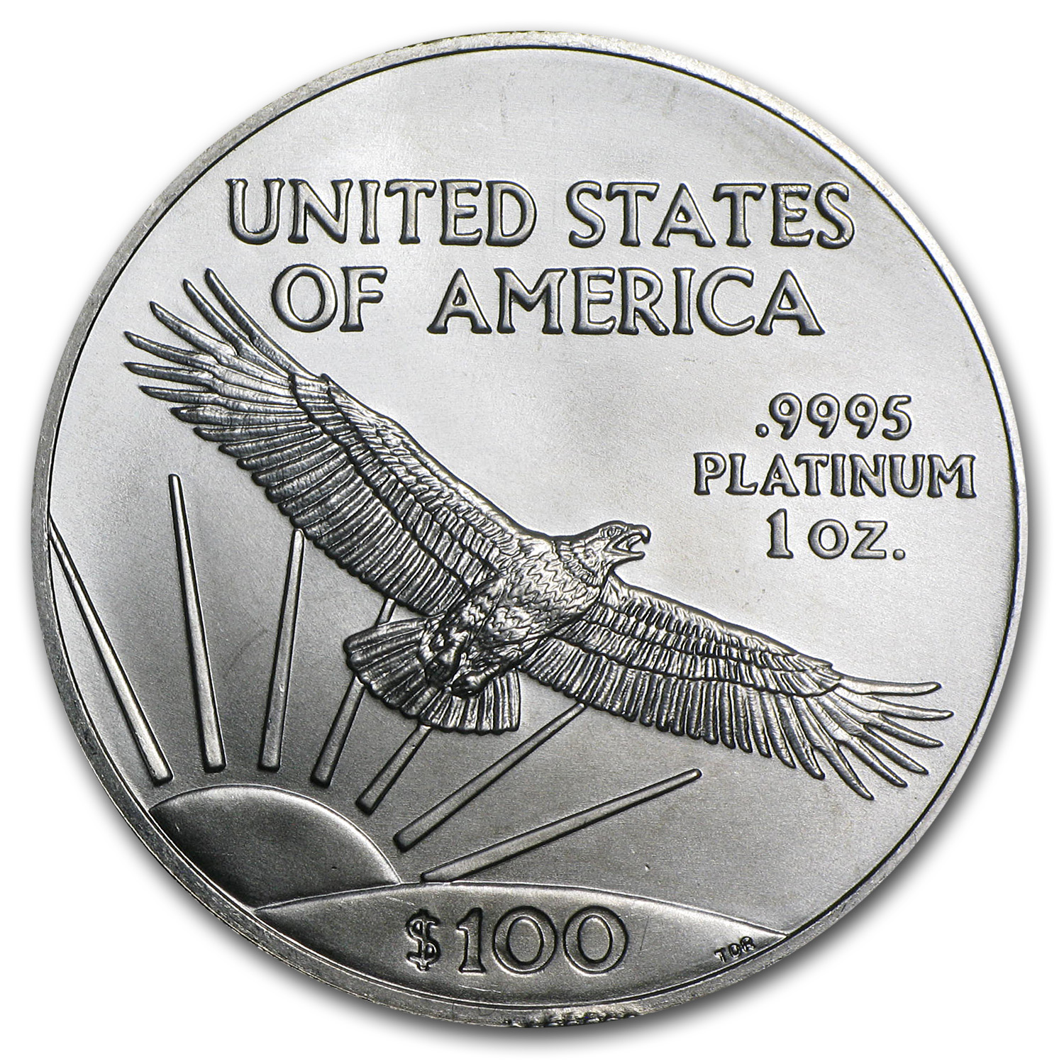 2008 1 oz Platinum American Eagle - Brilliant Uncirculated
