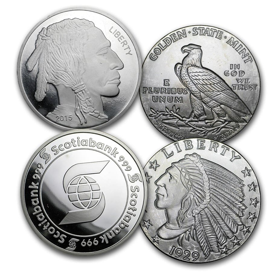 5 oz Silver Round - Secondary Market