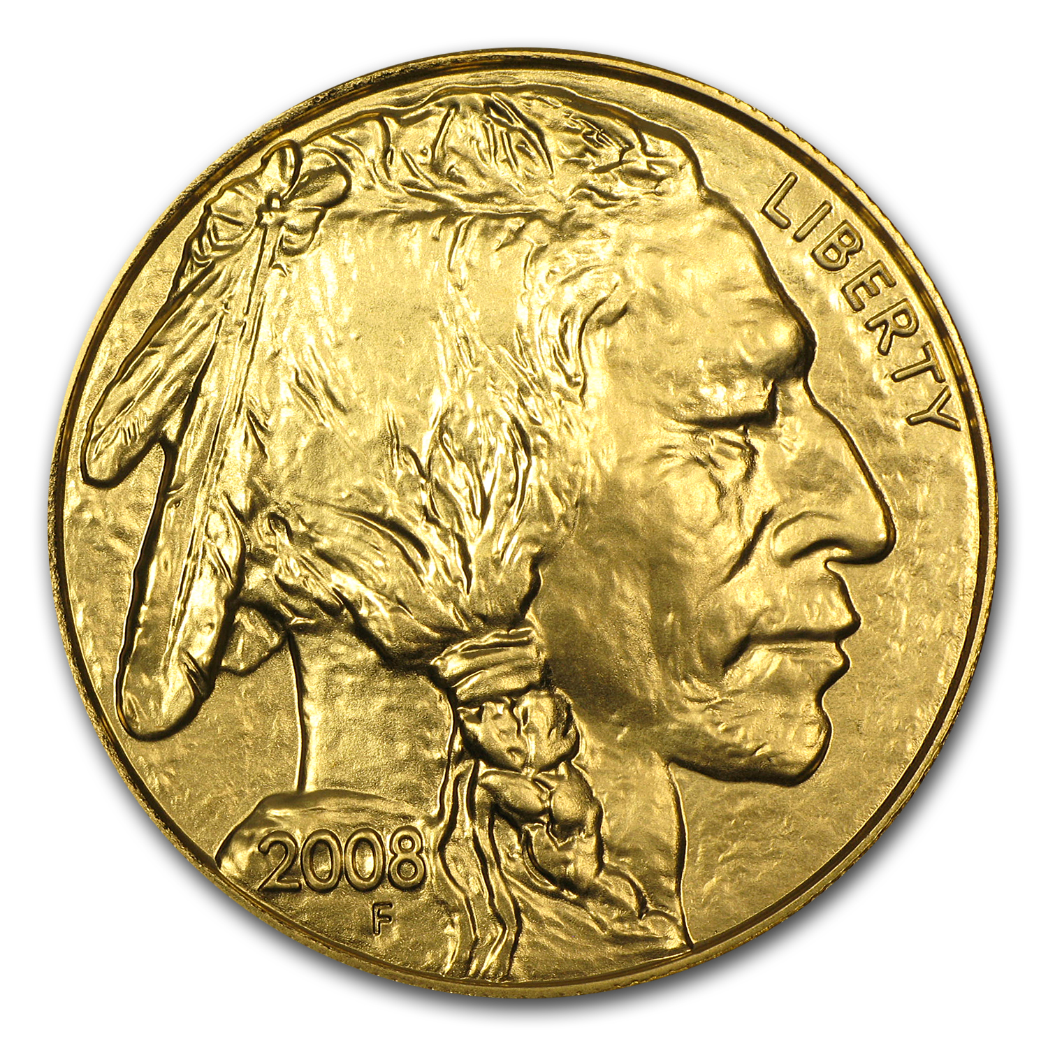 2008 1 oz Gold Buffalo BU