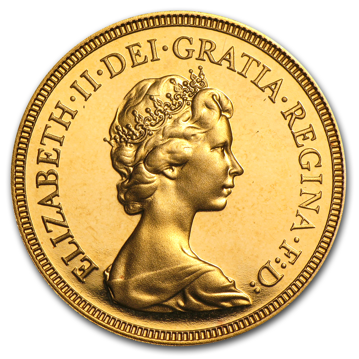 Great Britain Gold Sovereign Elizabeth II Proof