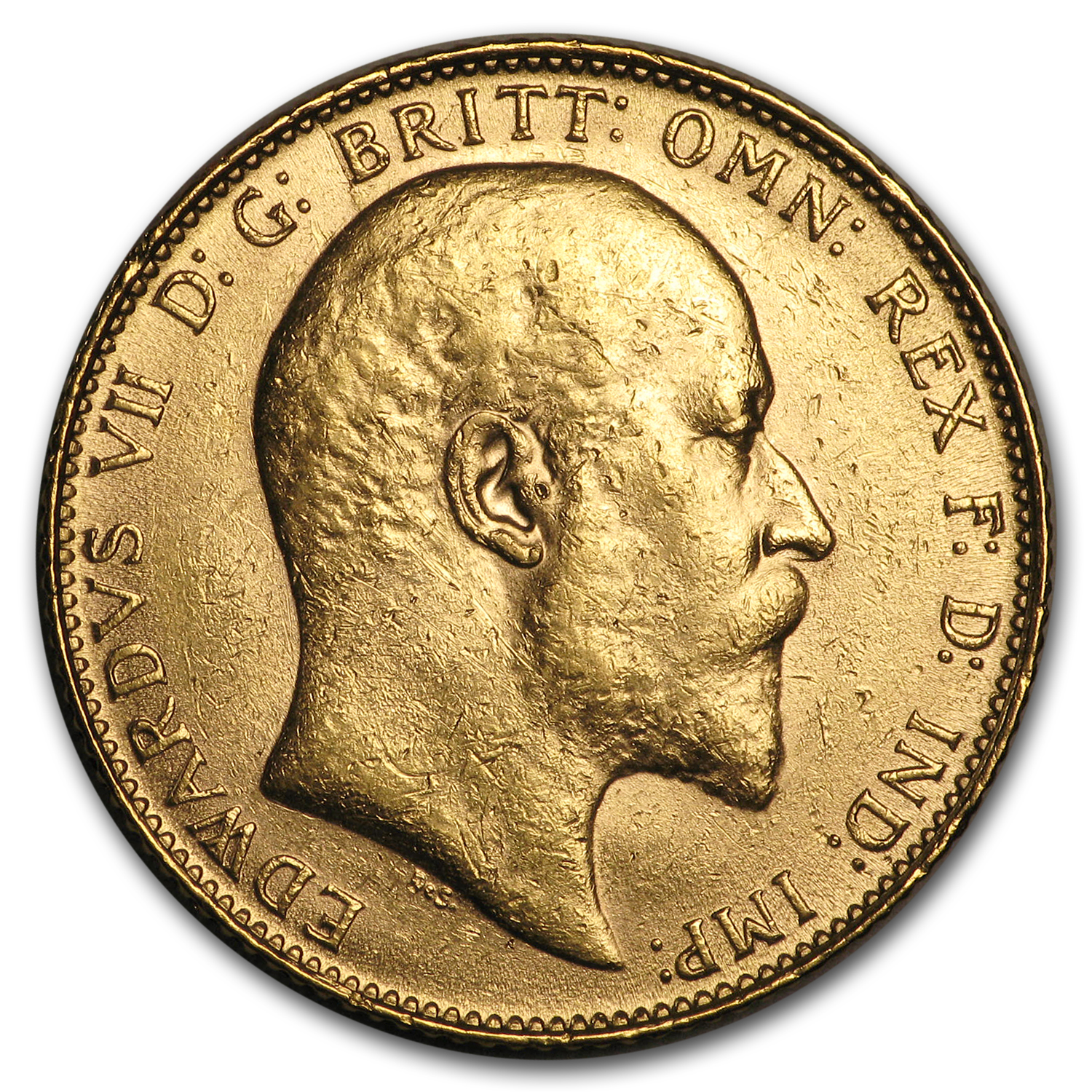 Great Britain Gold Sovereigns (Edward VII) (BU)