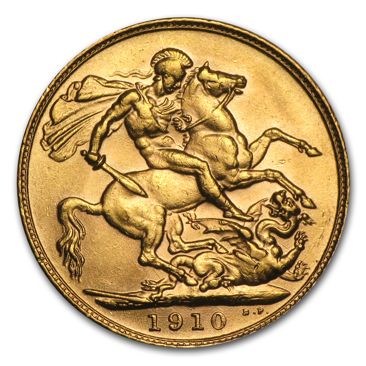 Great Britain Gold Sovereigns of Edward VII (AU)