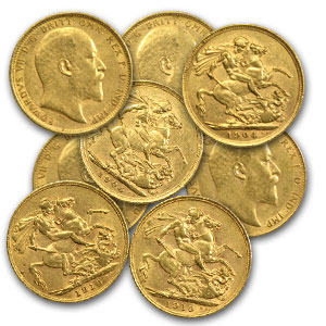 Great Britain Gold Sovereigns (Edward VII) (AU)