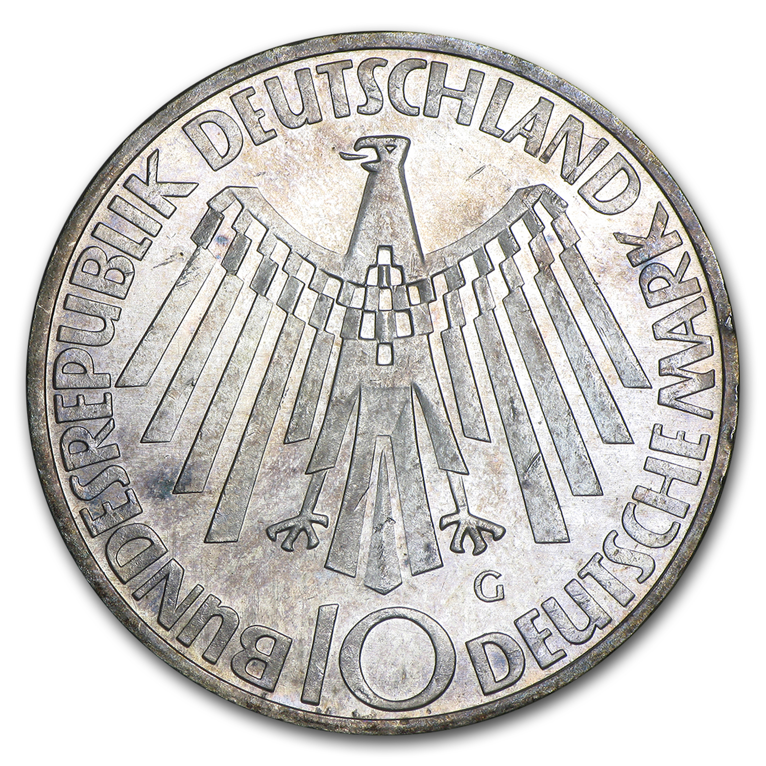 1972-2001 Germany Silver 10 Marks Commems (ASW .3115)