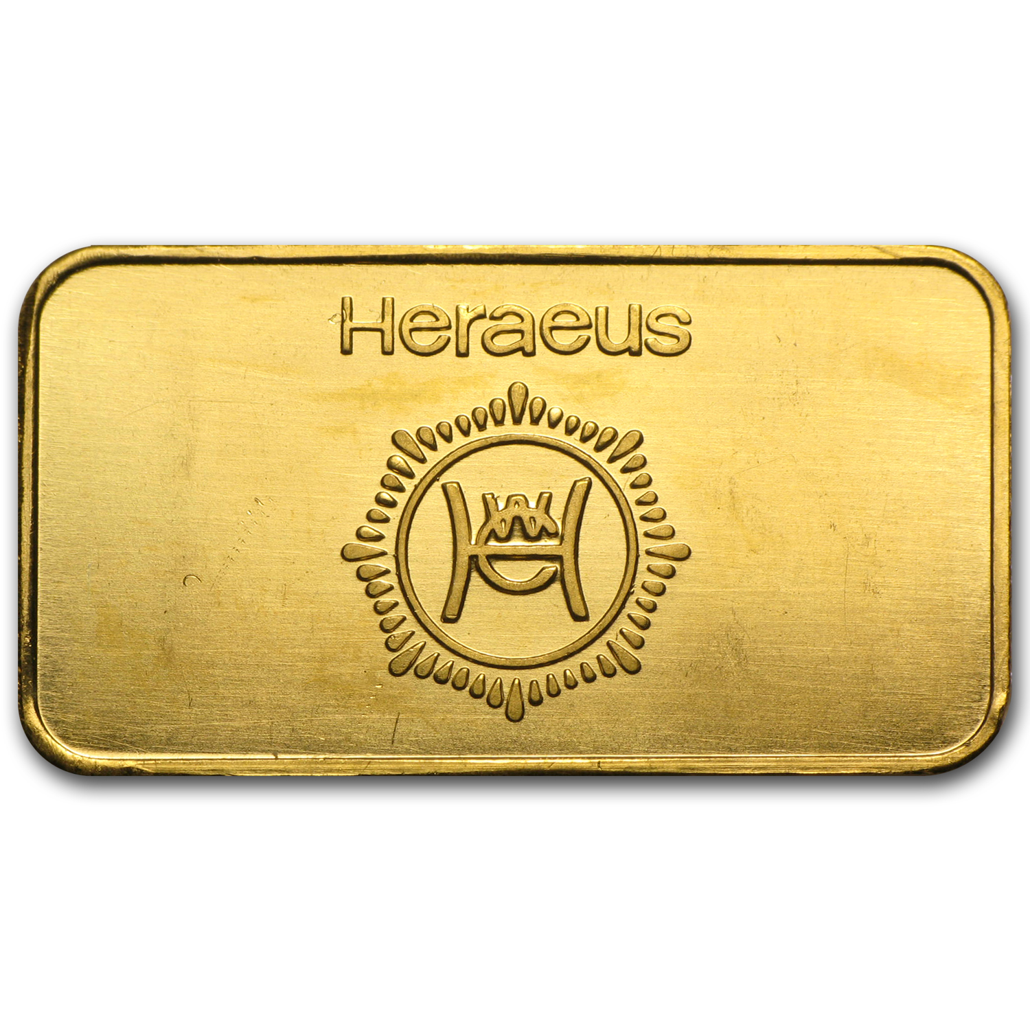 1/2 oz Gold Bar - Heraeus (RNB)