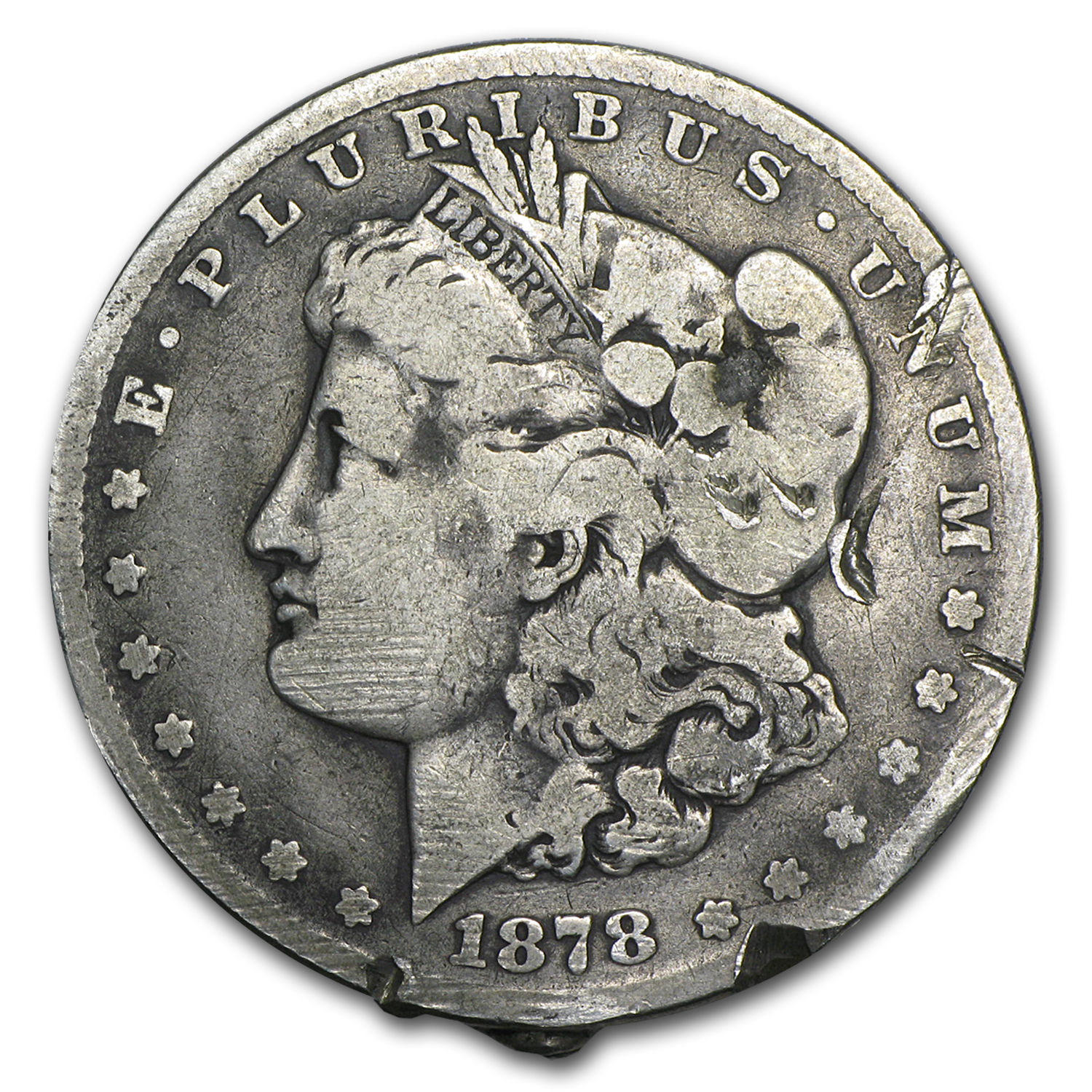 1878-1893-CC Morgan Dollars - Culls