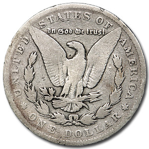 1899 Morgan Dollar Good Details (Cleaned)
