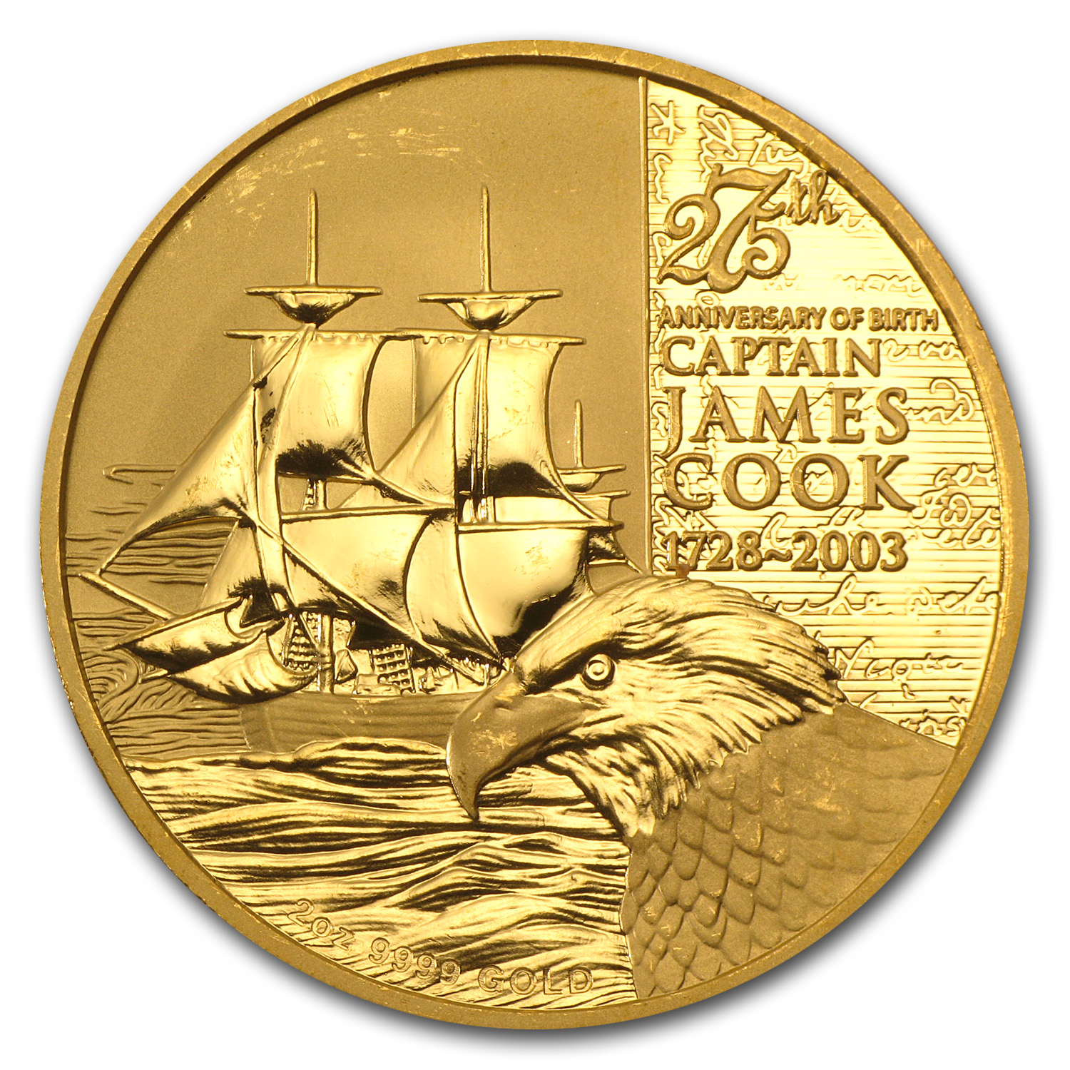 2003 Cook Islands Gold $200 - Proof
