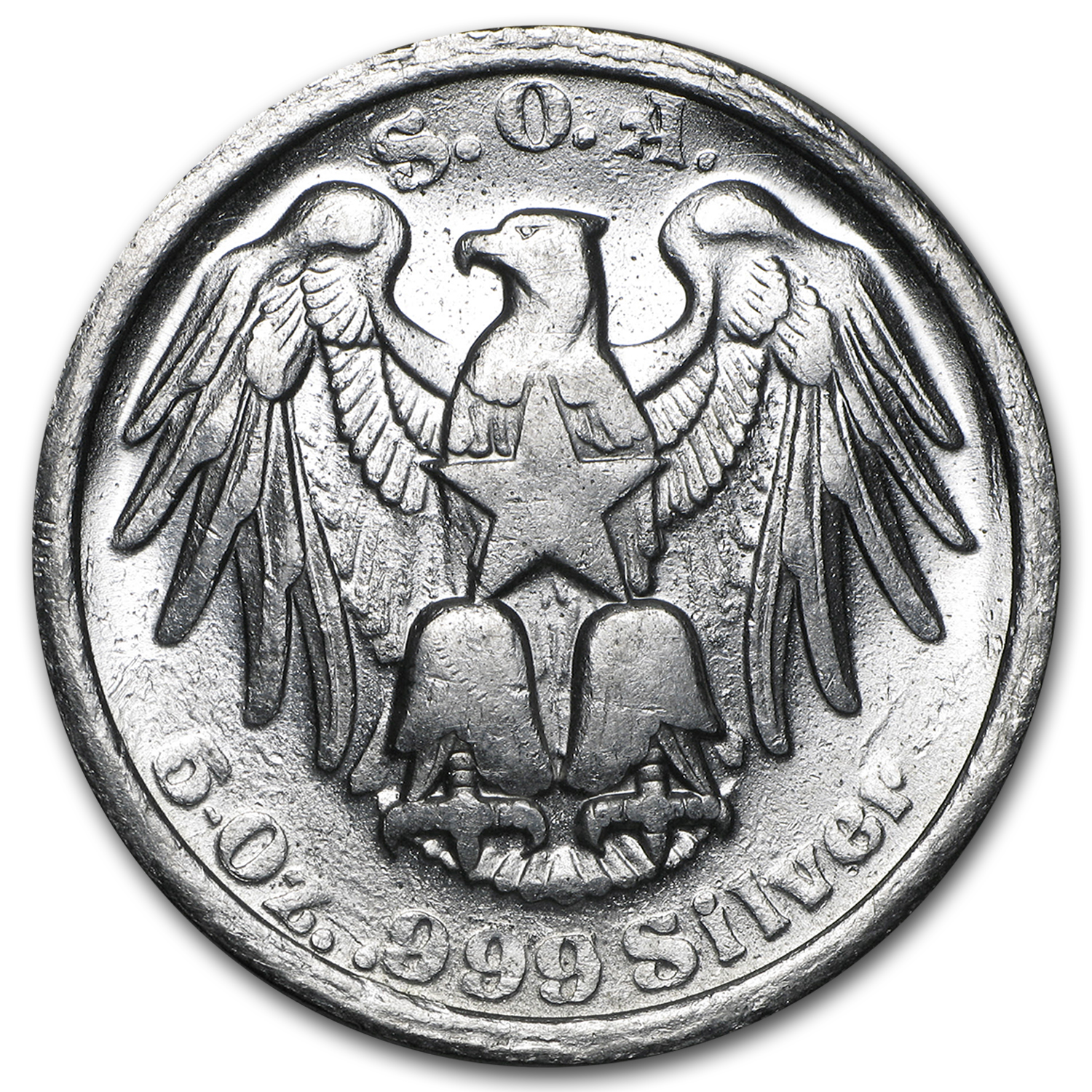 5 oz Silver Round - Swiss of America