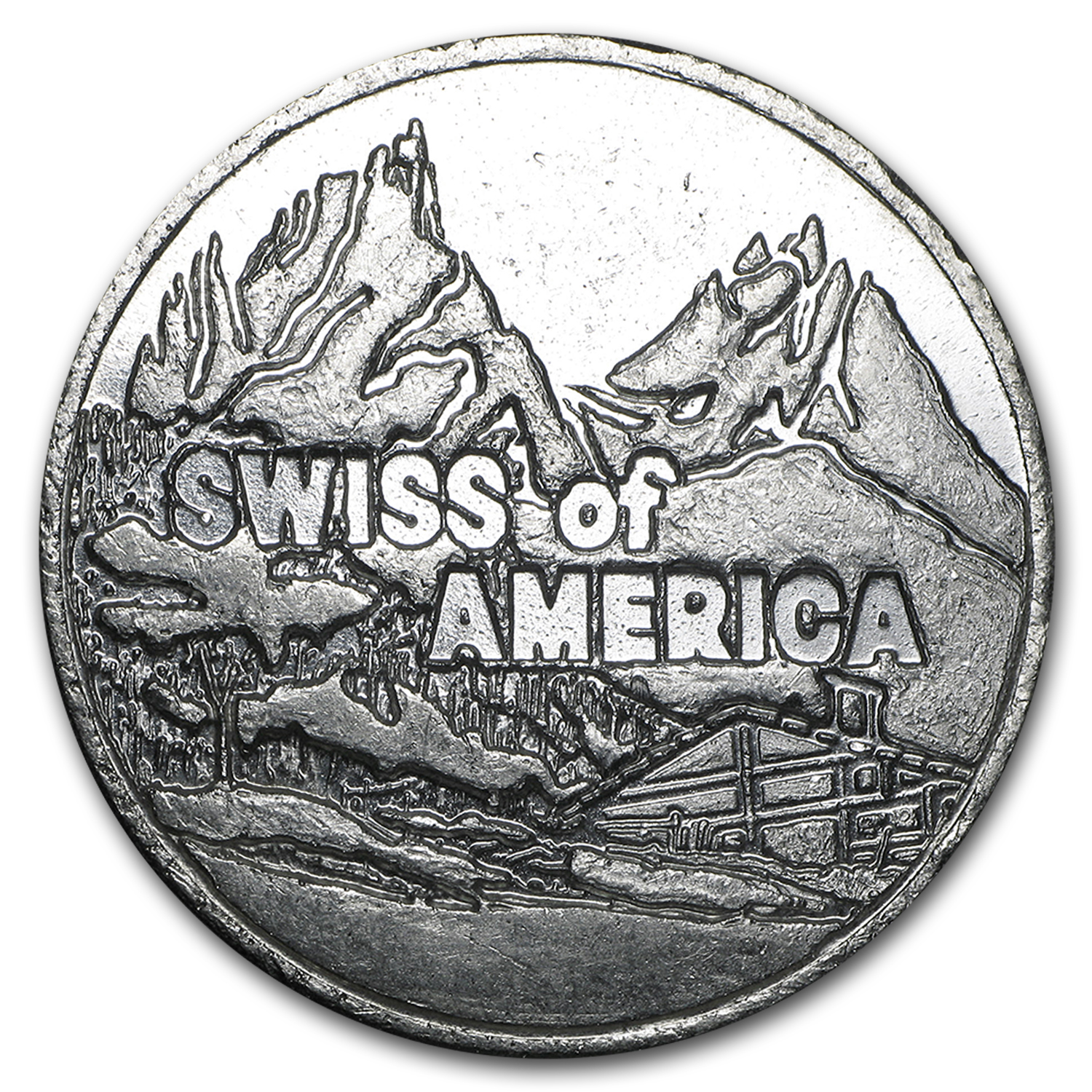 5 oz Silver Rounds - Swiss of America