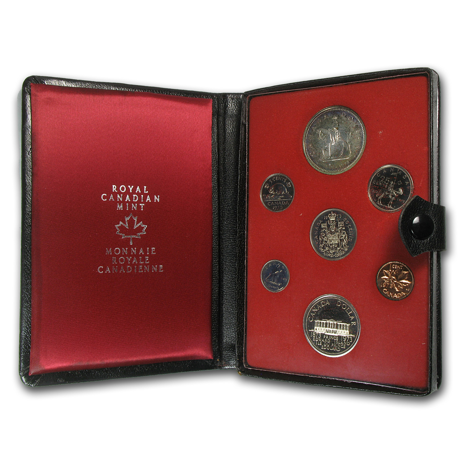 1973 Canada 7-Coin Double Dollar Specimen Set