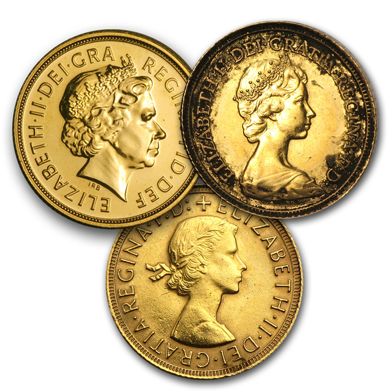 Great Britain Gold Sovereign Scruffy