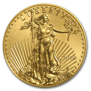 2008 1/2 oz Gold American Eagle MS-69 PCGS (FS)