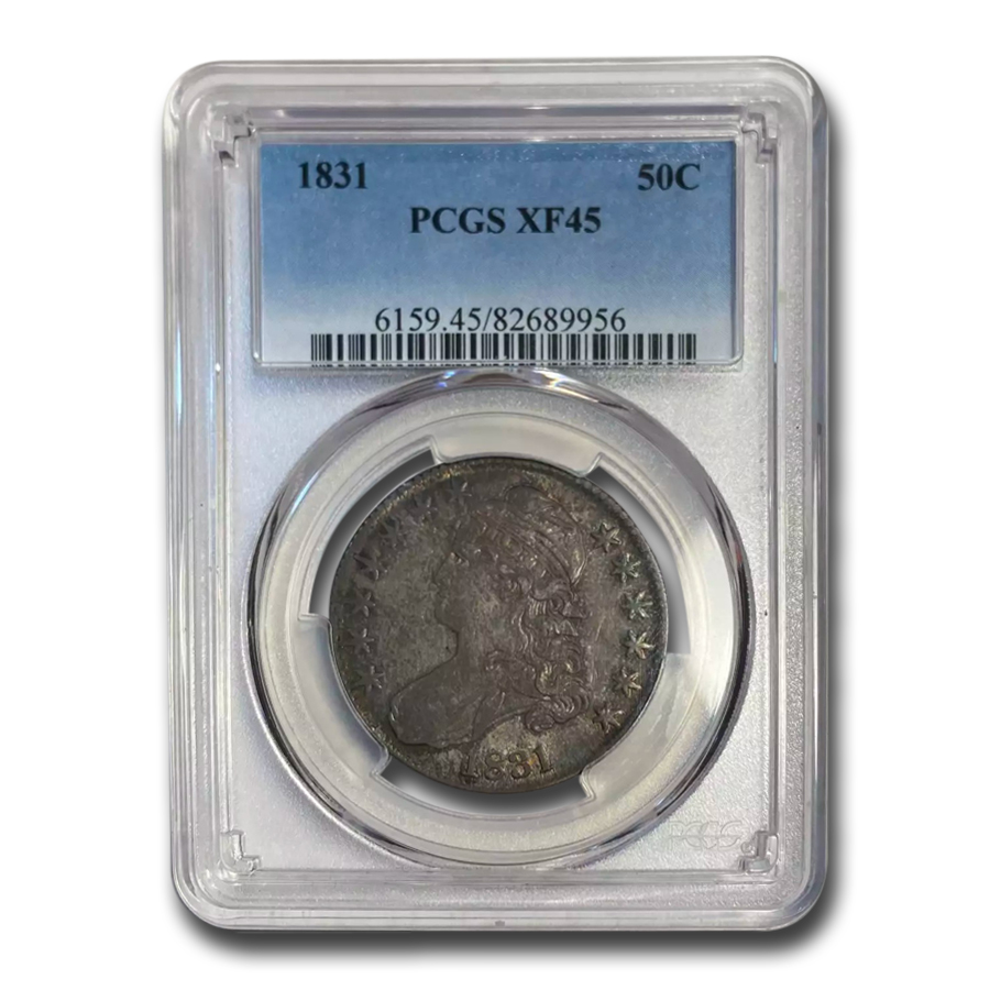 1831 Capped Bust Half Dollar XF-45 PCGS