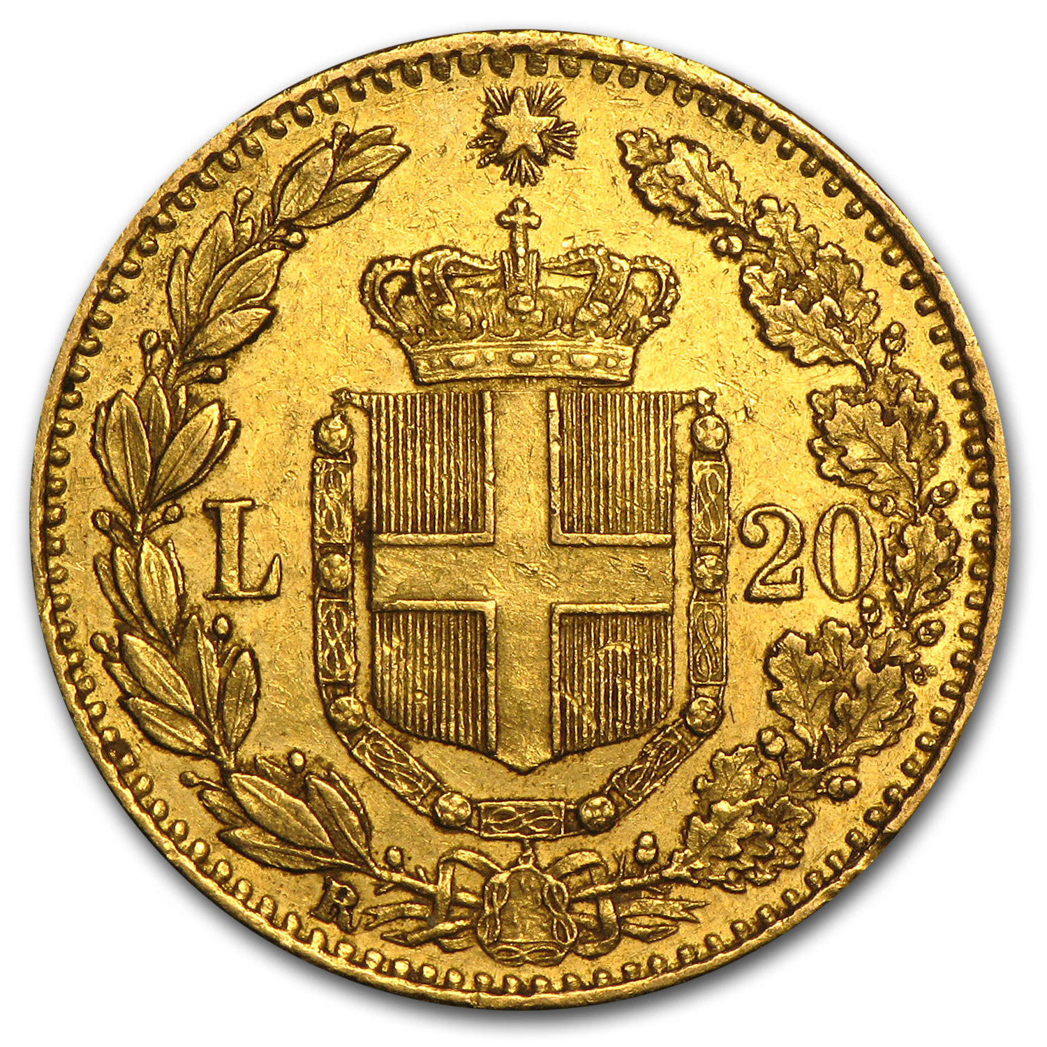 Italy Gold 20 Lire Average Circ (Random)