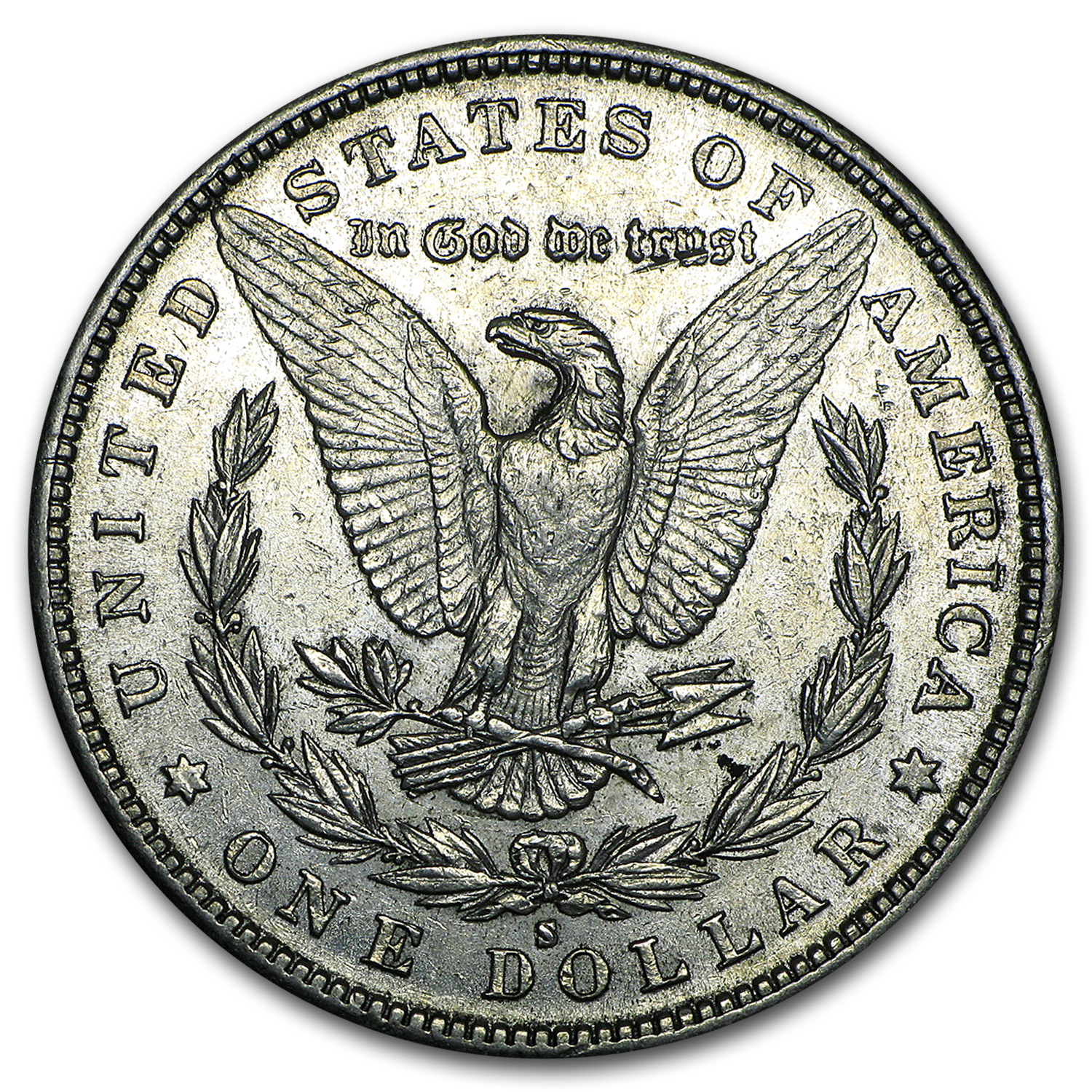 1889-S Morgan Dollar AU-53