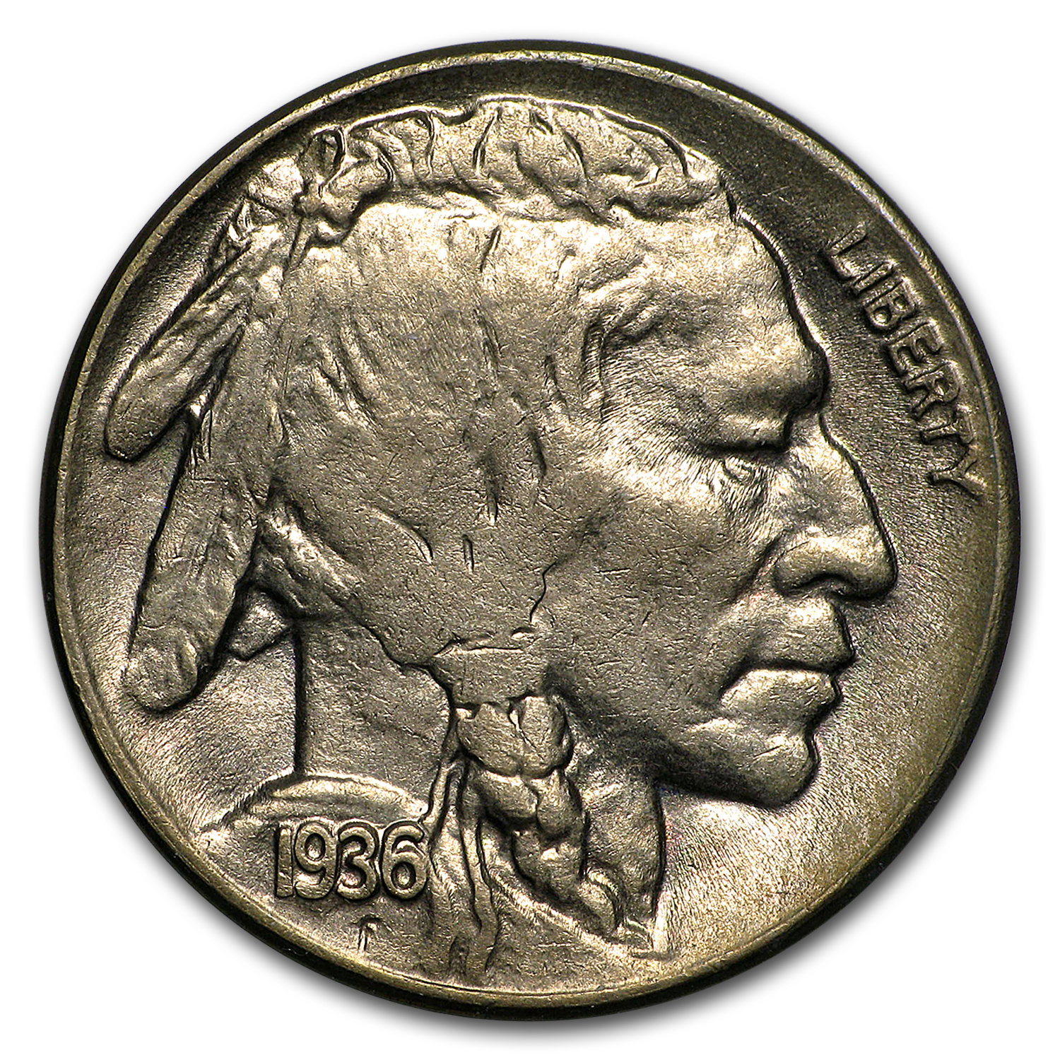1936-D Buffalo Nickel MS-62
