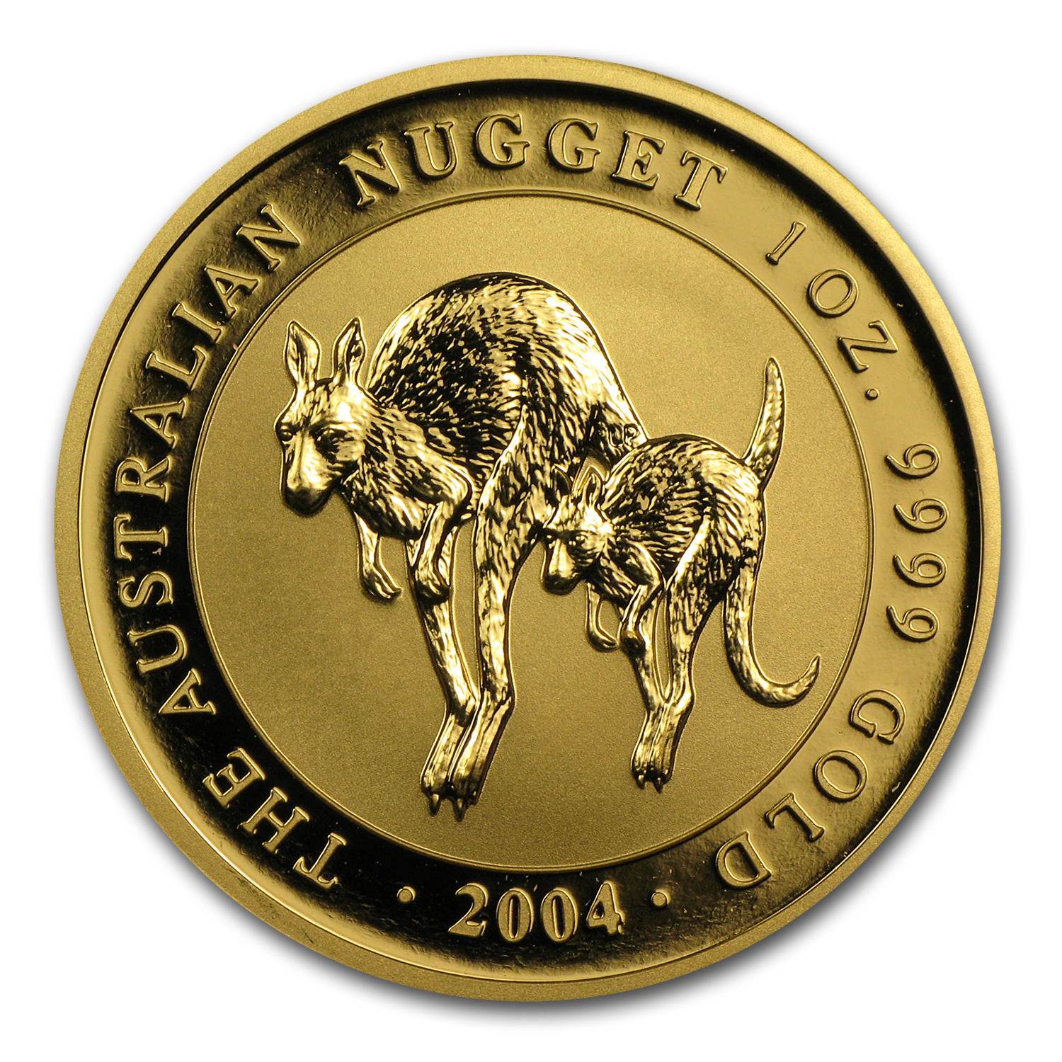 2004 1 oz Australian Gold Nugget