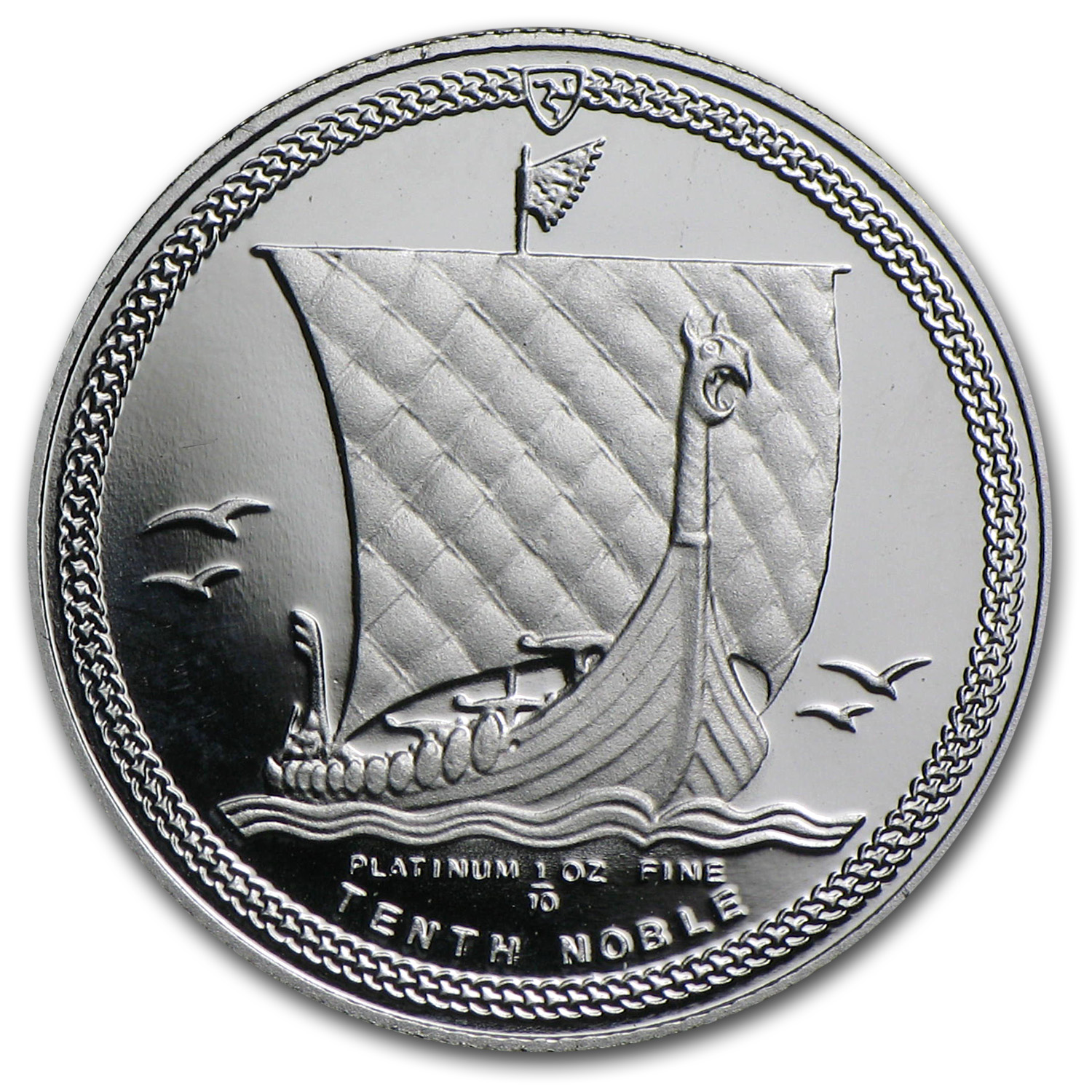 1/10 oz Isle of Man Platinum Noble Proof