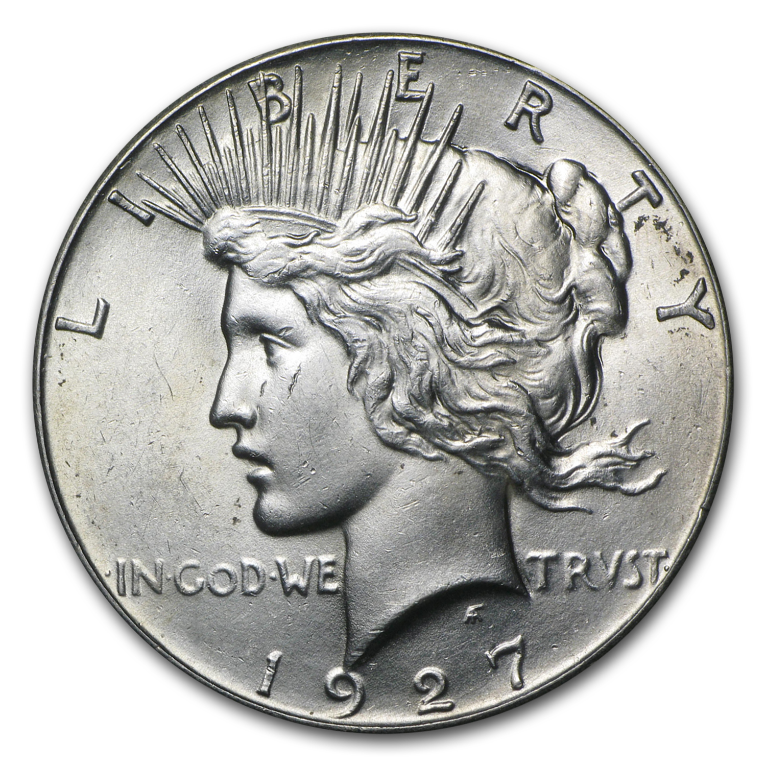 1927 Peace Dollar - Brilliant Uncirculated