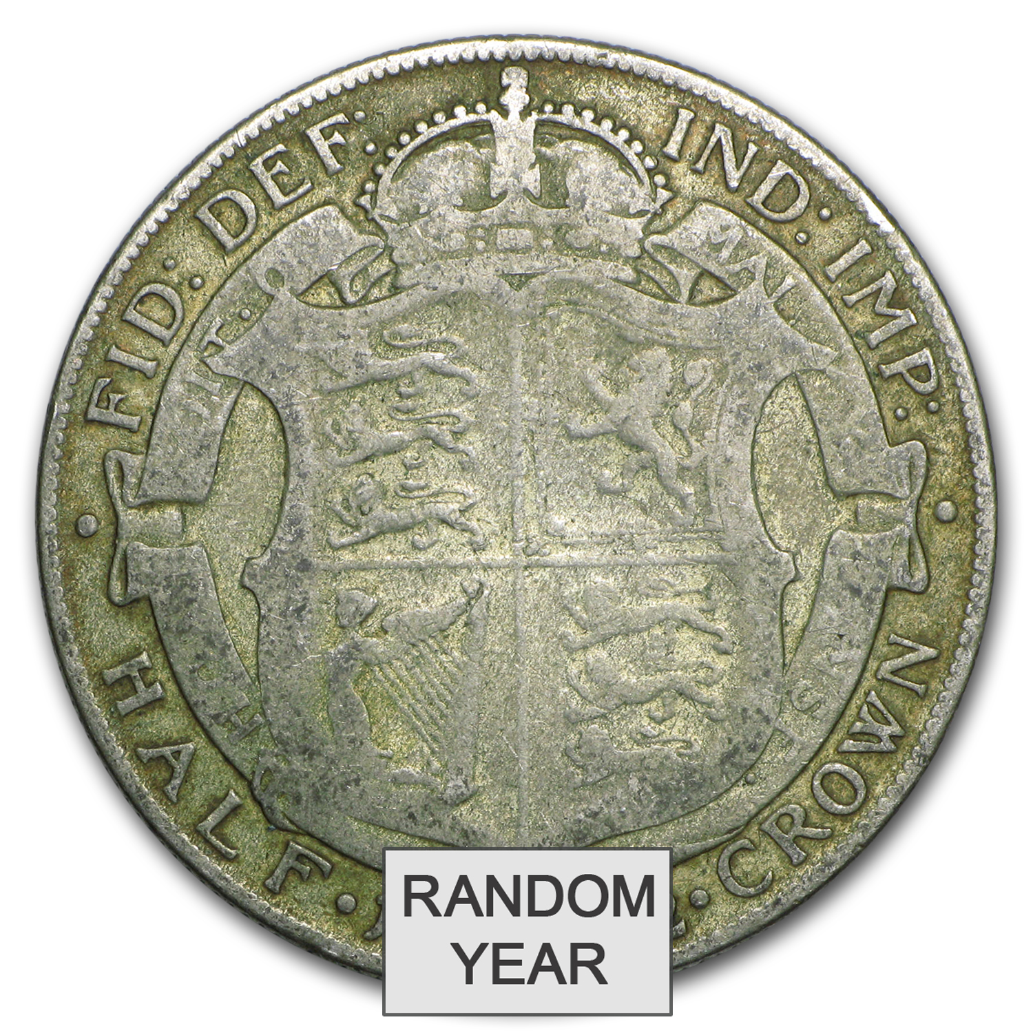 1920-1936 Great Britain Silver Half Crown George V