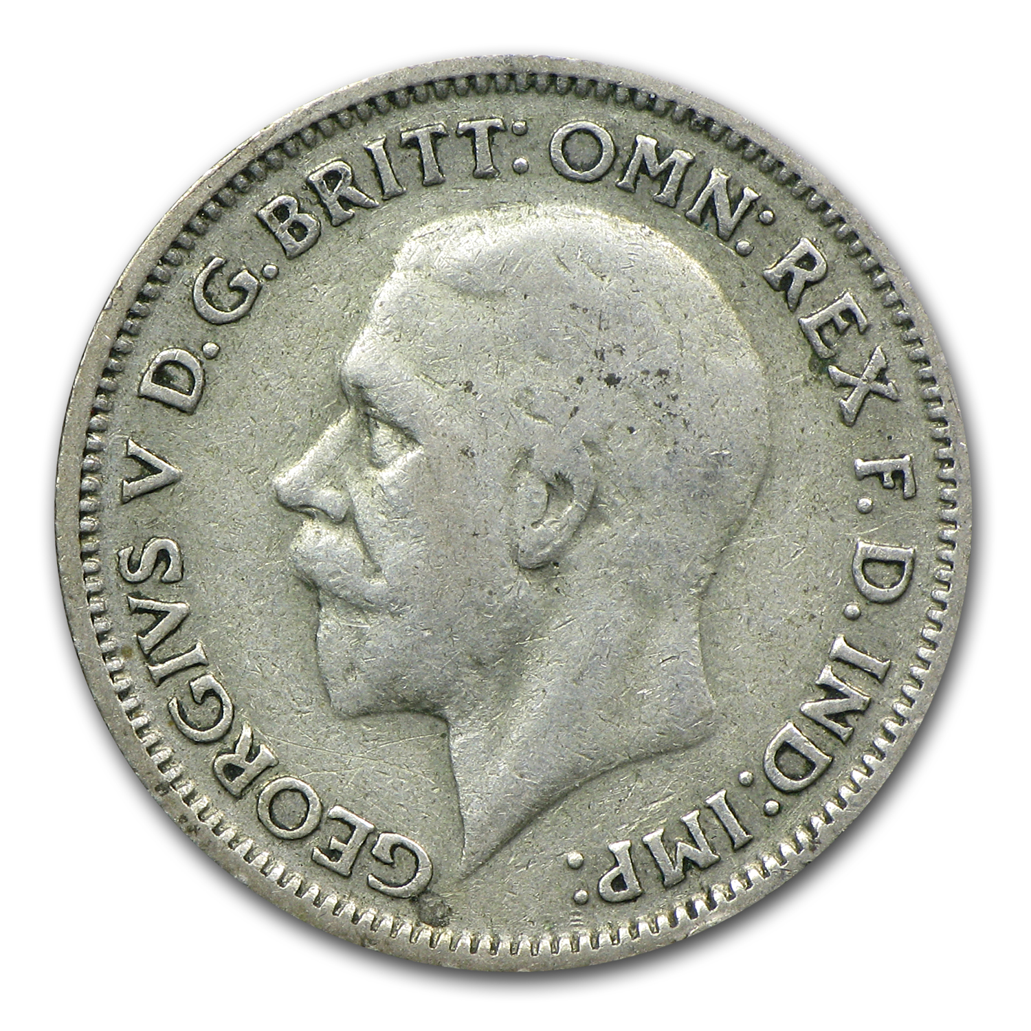1920-1946 Great Britain Silver Wedding 6 Pence