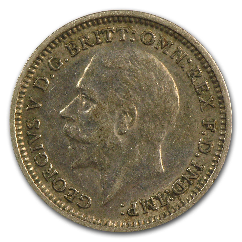Great Britain Silver 3 Pence Random Asw 0227 Silver