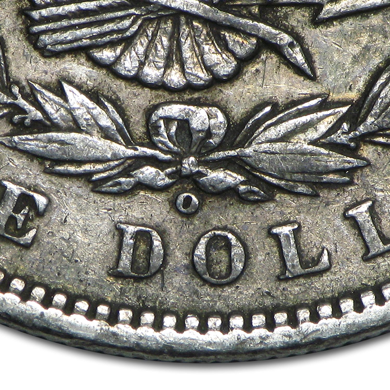 1899 o morgan dollar micro o xf top 100 value of silver