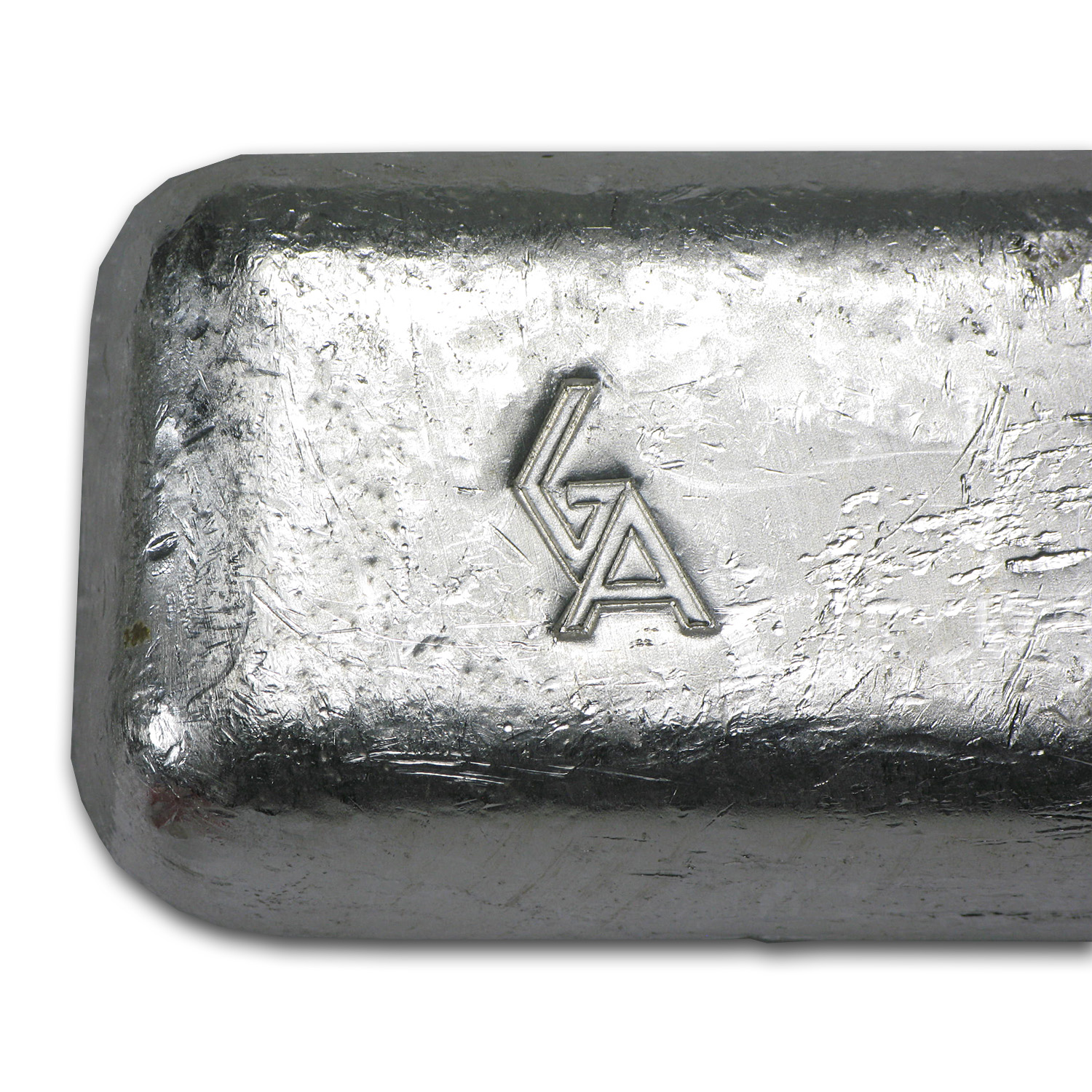 10 oz Silver Bar - Golden Analytical