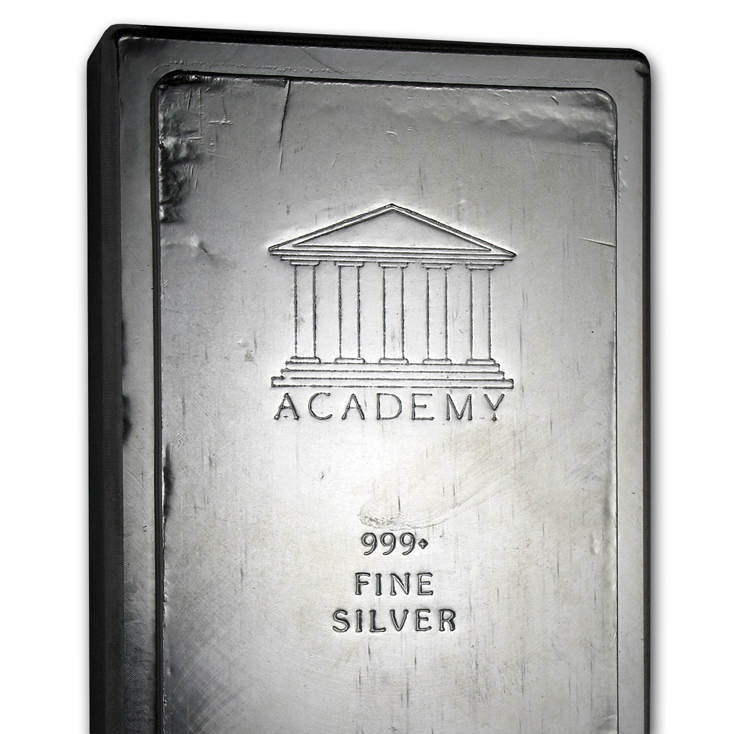 100 oz Silver Bars - Academy (Stackable)