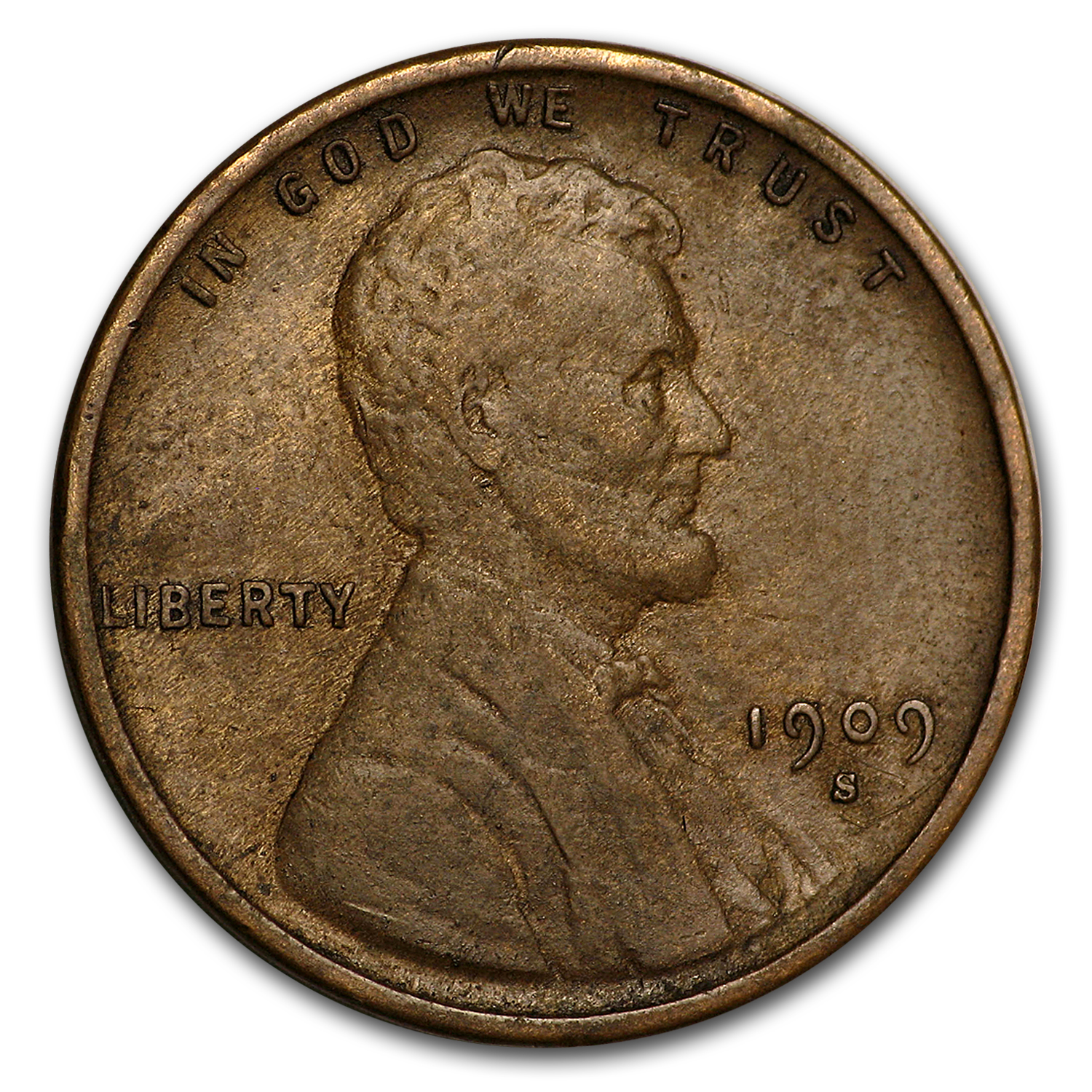 1909-S VDB Lincoln Cent VF