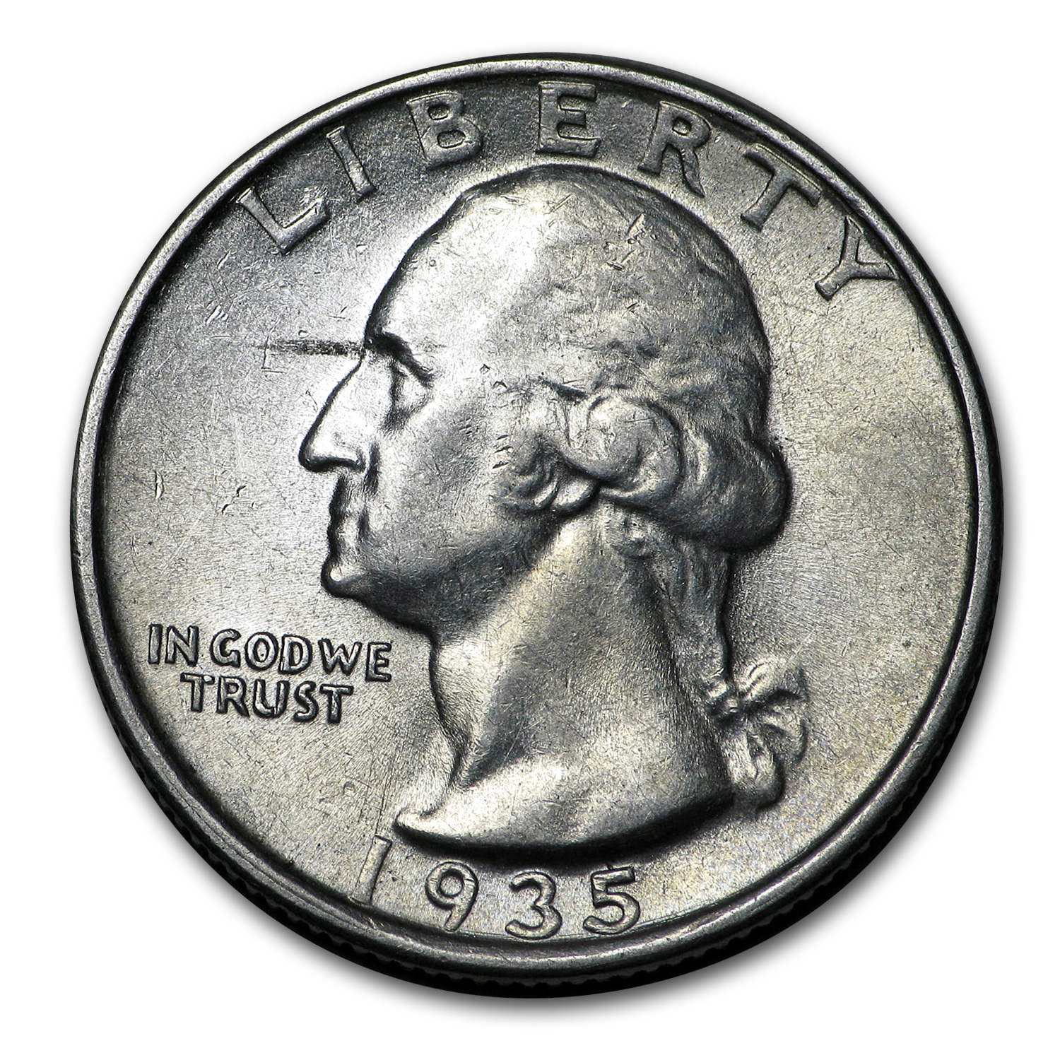 1935-D Washington Quarter BU