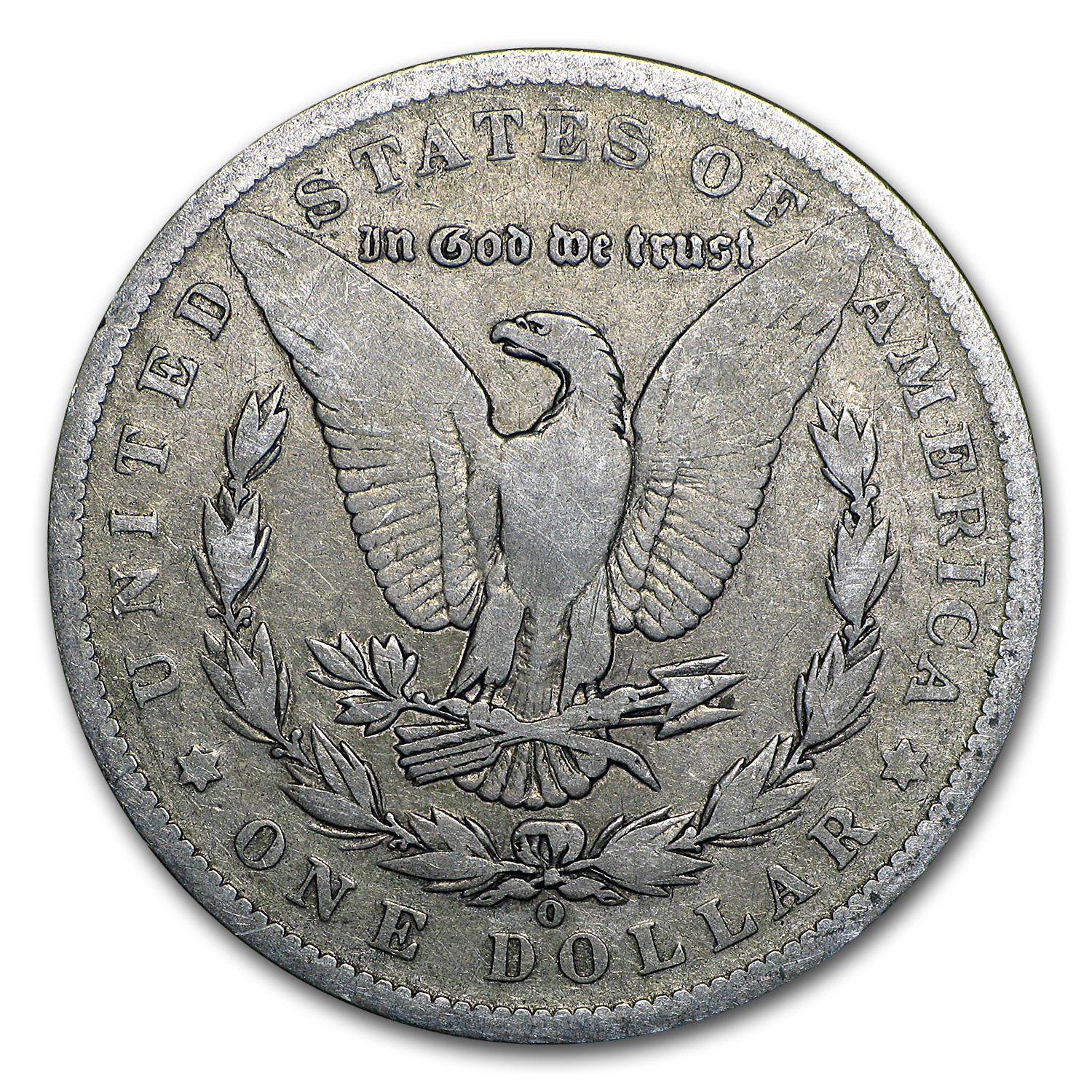 1888-O Morgan Dollar - Good - VAM-4 HOT LIPS Doubled Die Obv