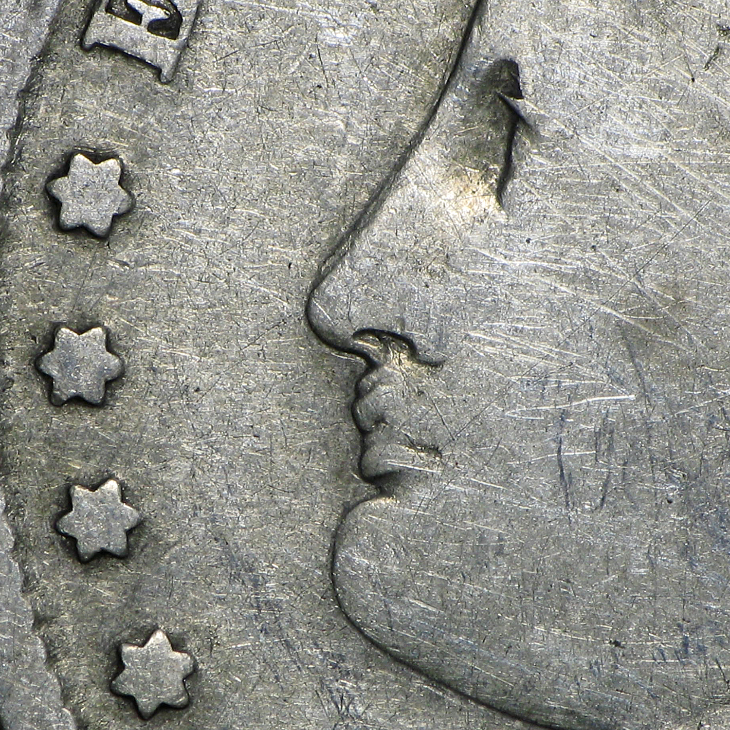 1888-O Morgan Dollar Good (VAM-4, Hot Lips, Doubled Die Obv)