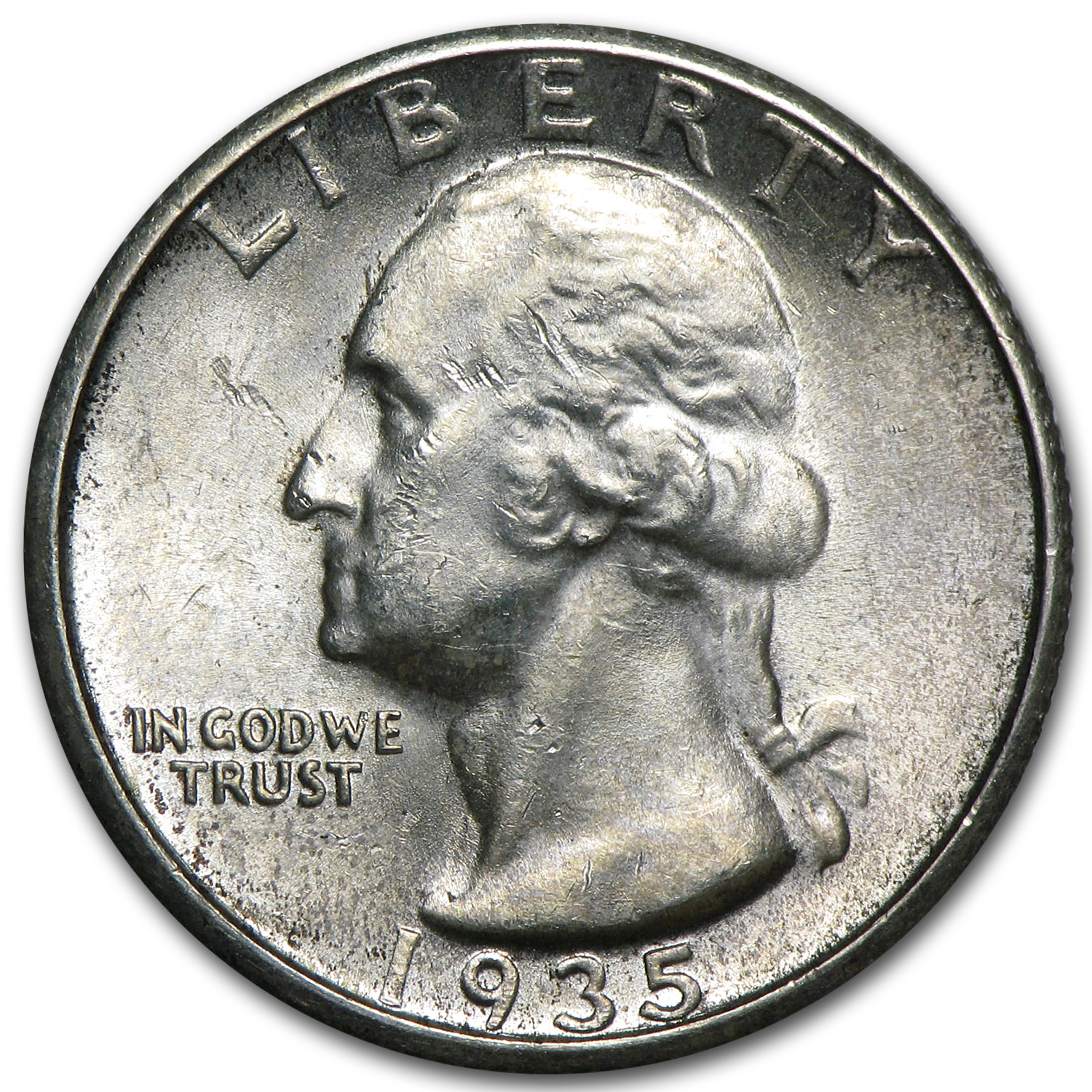 1935-S Washington Quarter BU