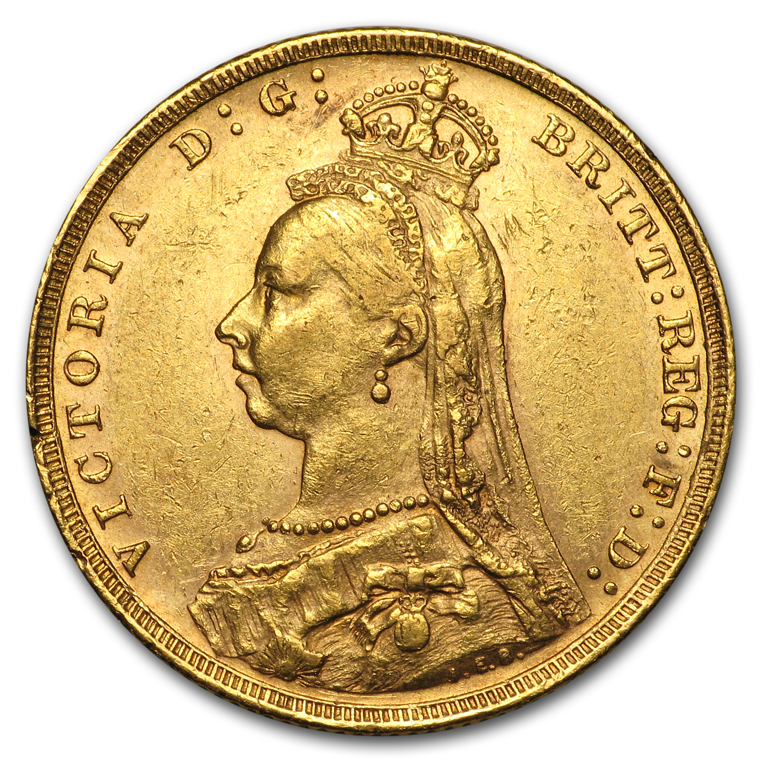 Australia Gold Sovereign Victoria AU (Random Dates)