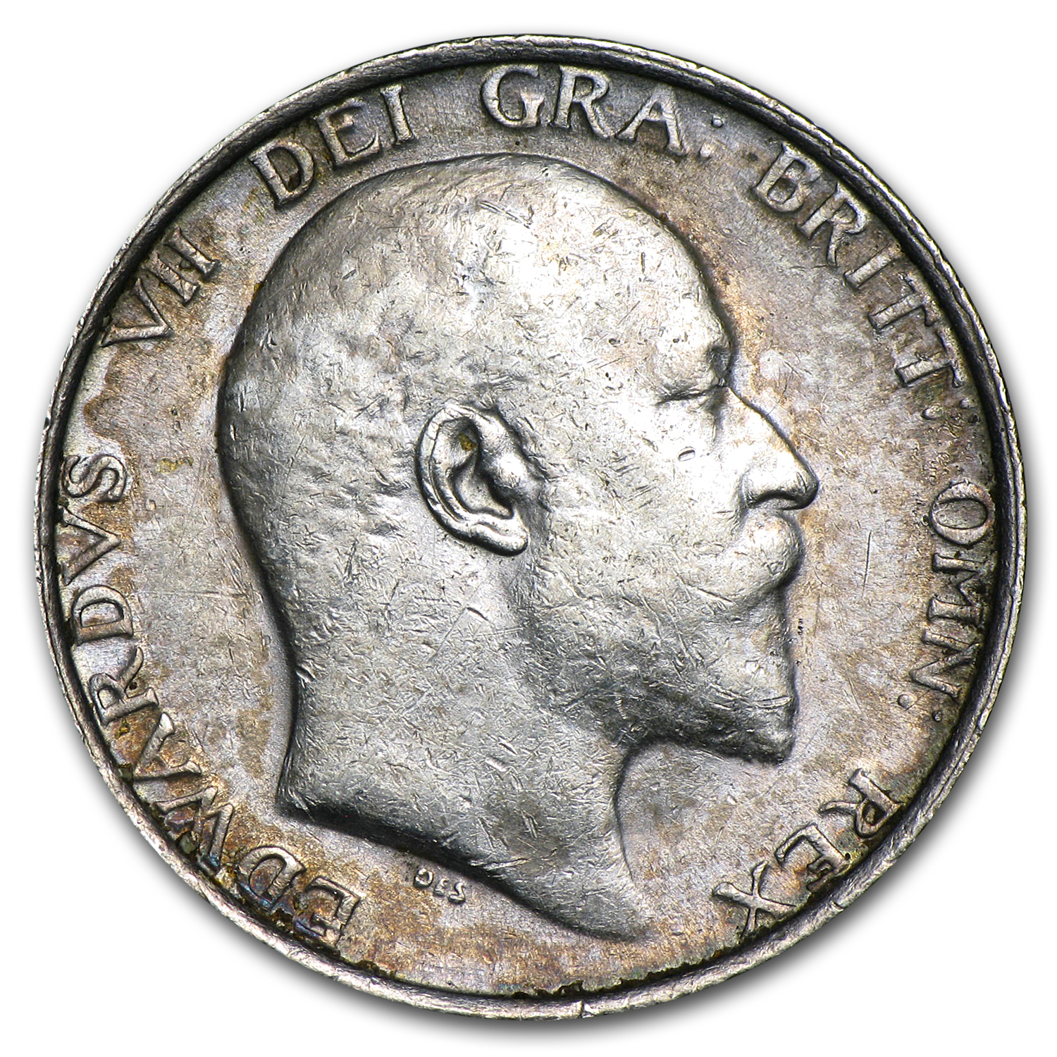1906 Great Britain Shilling Edward VII EF