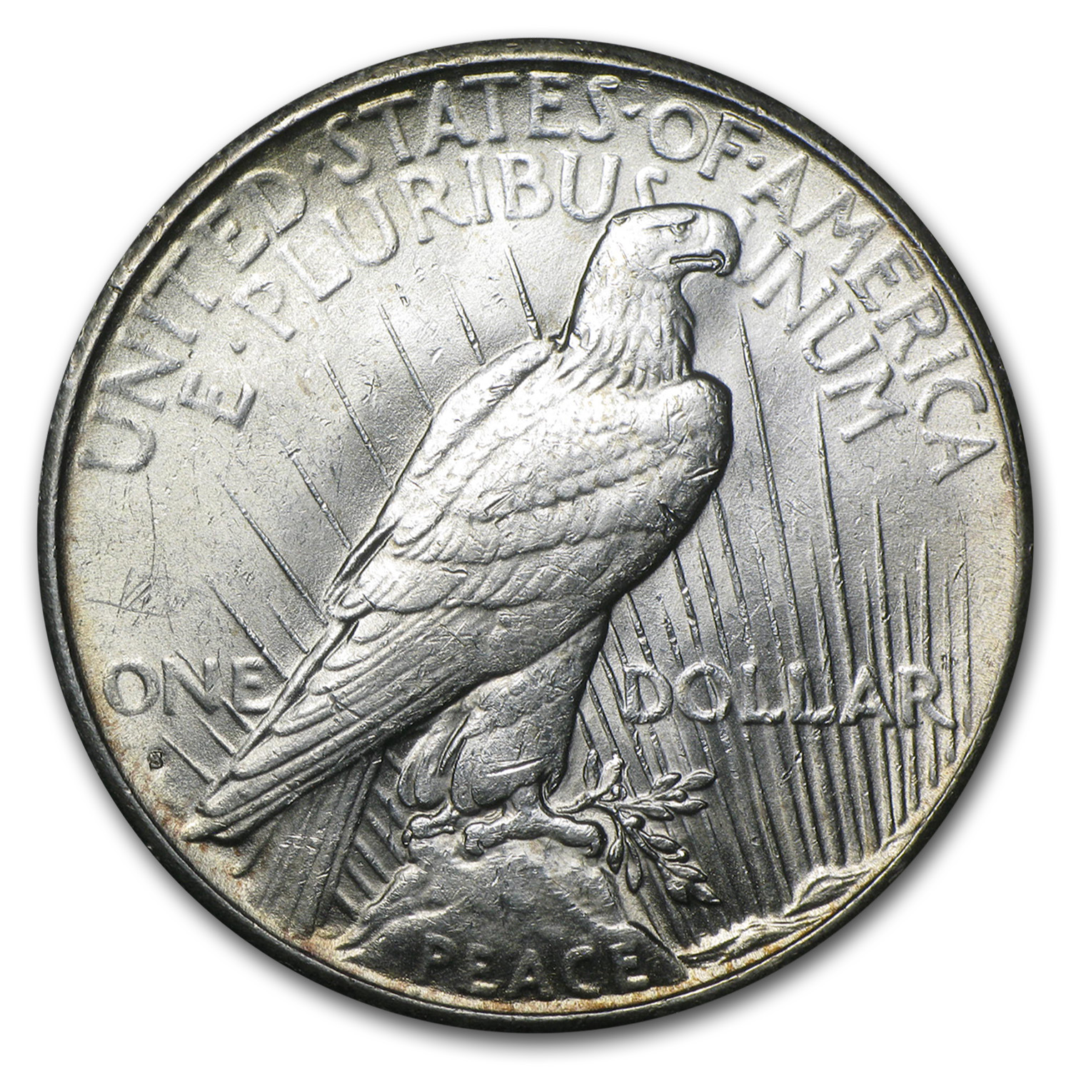 1935-S Peace Dollar - Brilliant Uncirculated