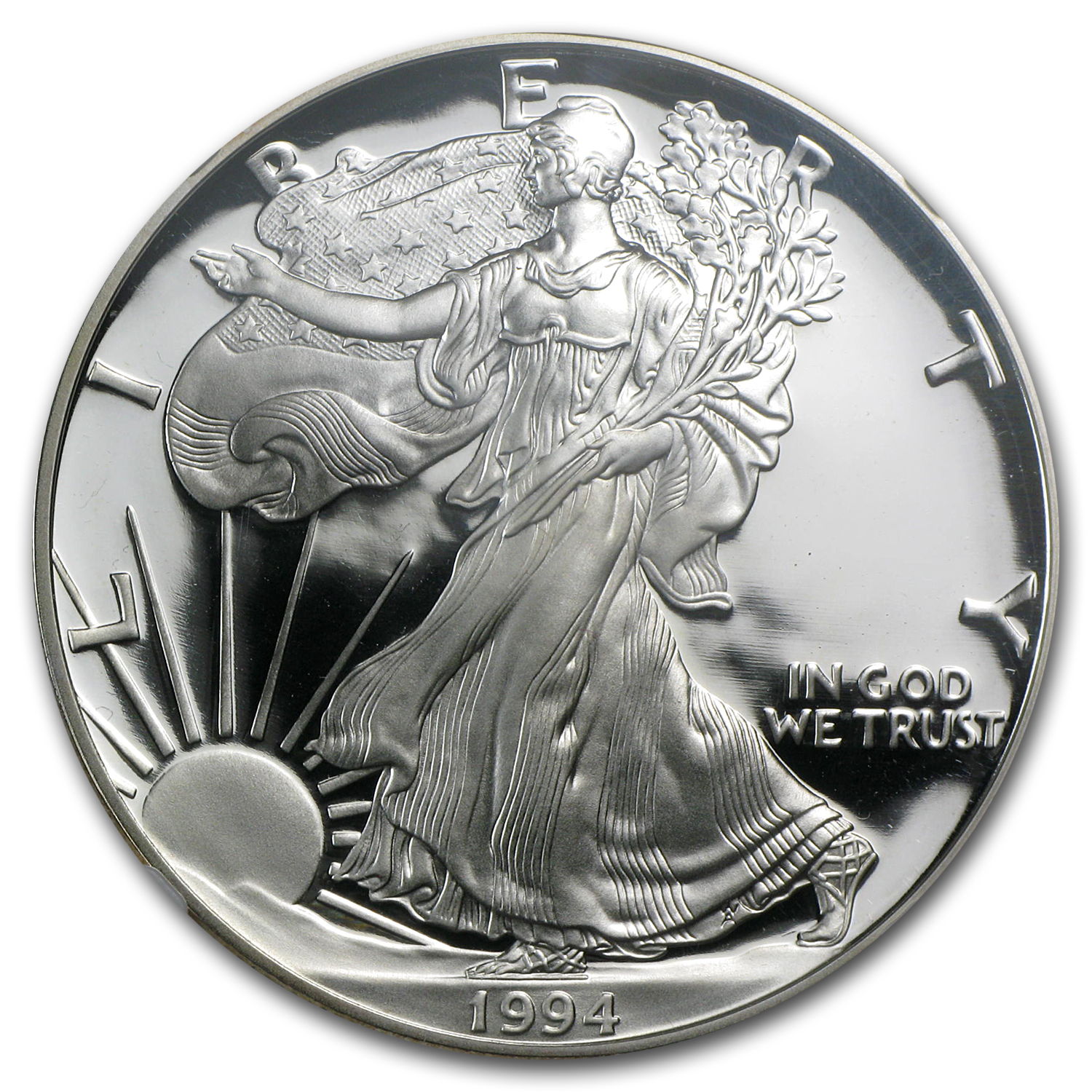 1994-P Proof Silver American Eagle PF-70 NGC (Registry Set)