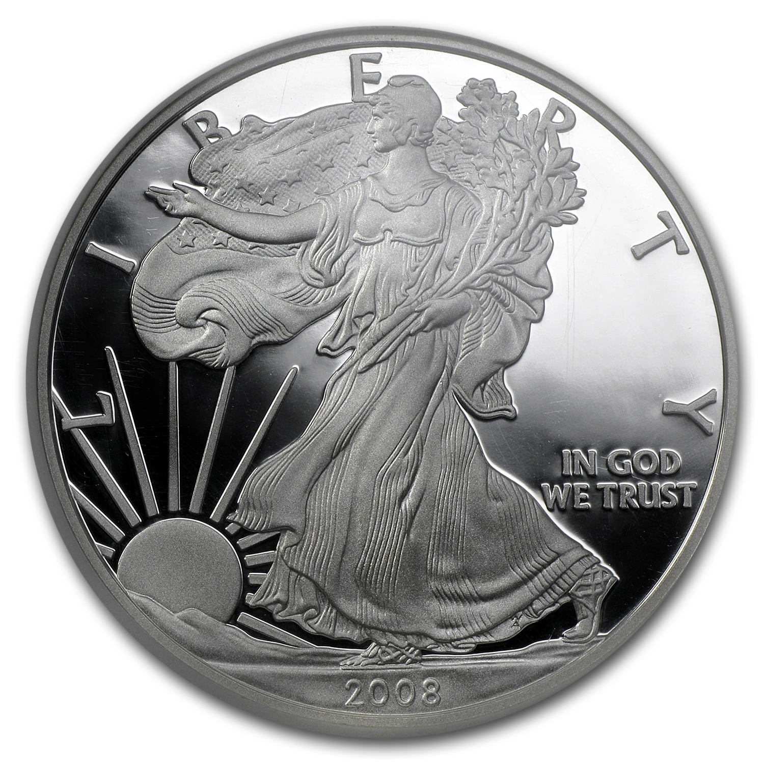 2008-W Proof Silver American Eagle PF-70 NGC (ER)