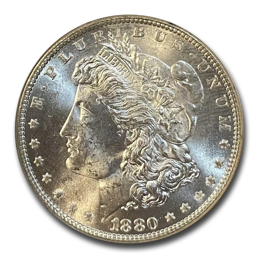 1880-O Morgan Dollar MS-64 NGC