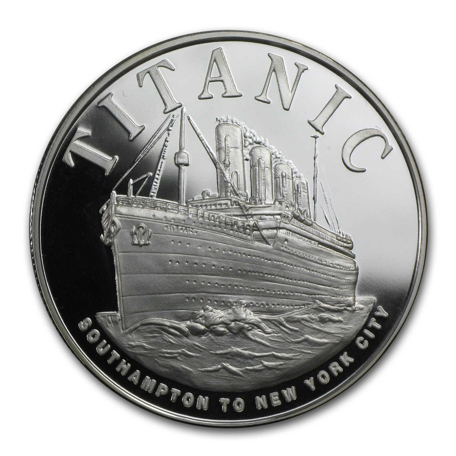 1 oz Silver Round - Titanic (Proof)