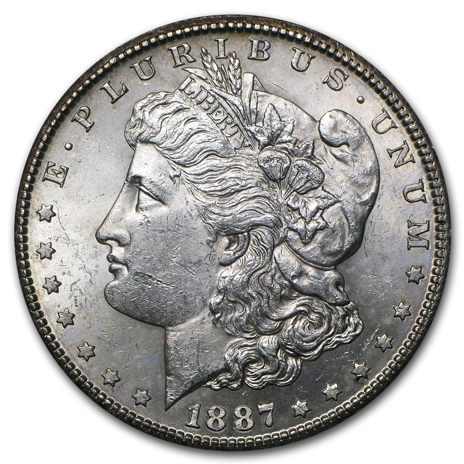 1887-S Morgan Dollar - Brilliant Uncirculated