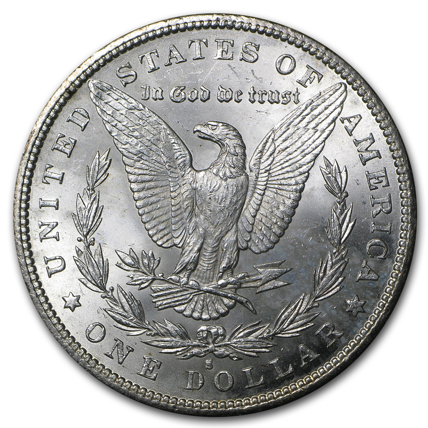 1887-S Morgan Dollar BU