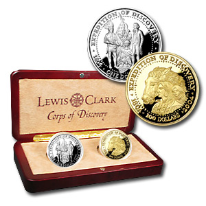 1 oz Gold & Silver Round - 2004 Shawnee Tribe 2-Coin Proof Set