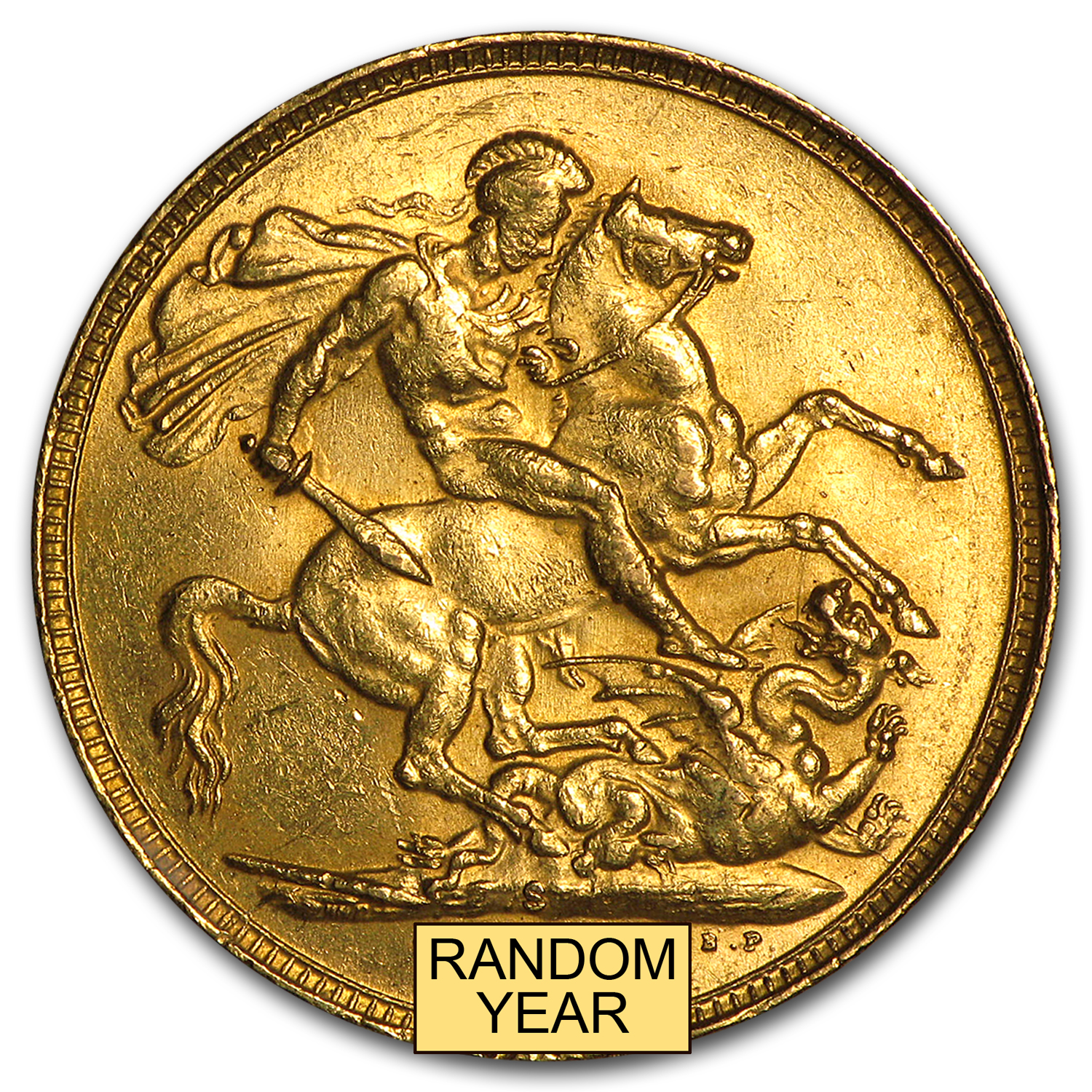 Australia Gold Sovereign Edward VII AU