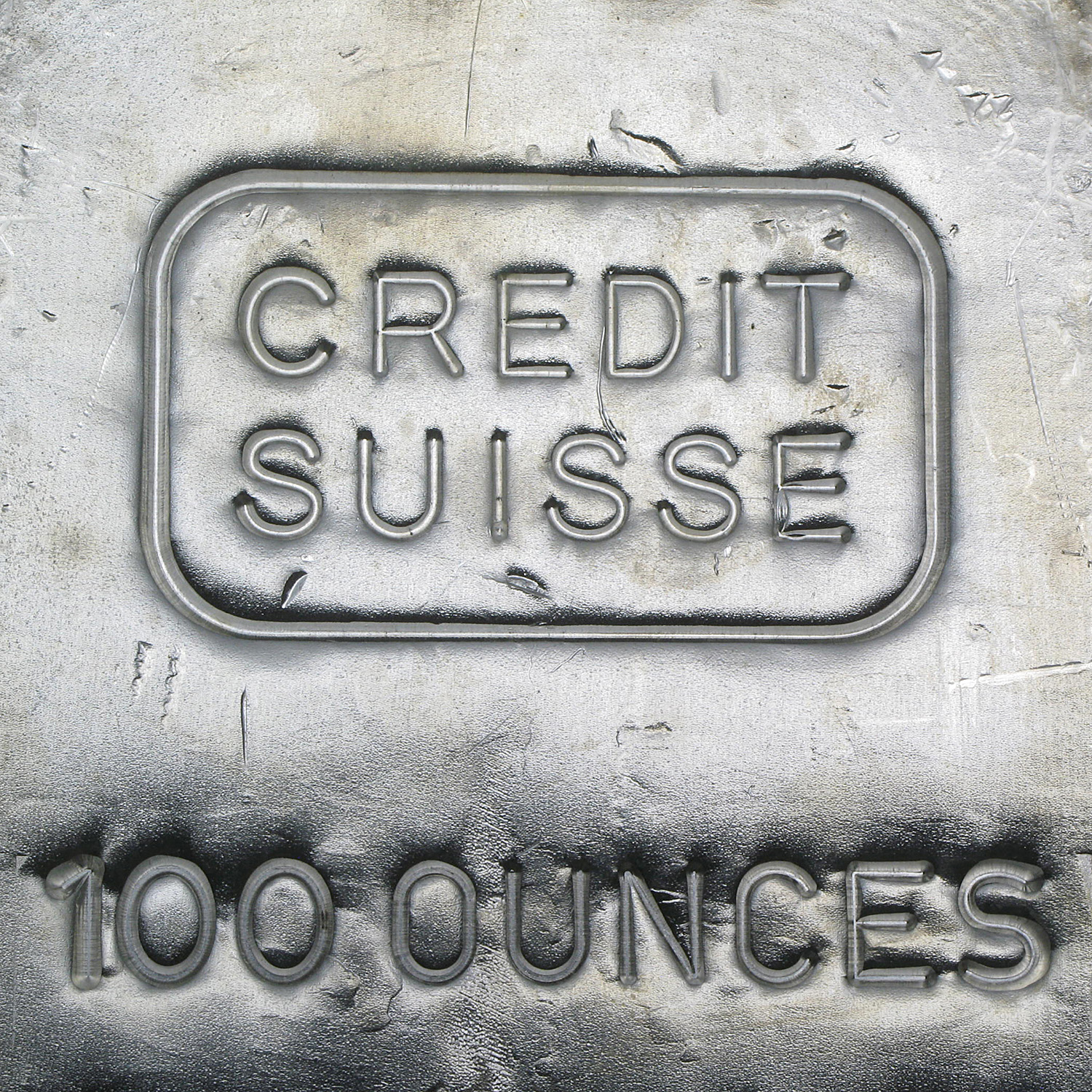 100 oz Silver Bar - Credit Suisse