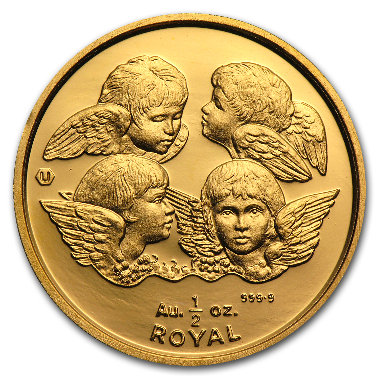 Gibraltar Gold 1/2 Royal Cherubs (Random Dates)