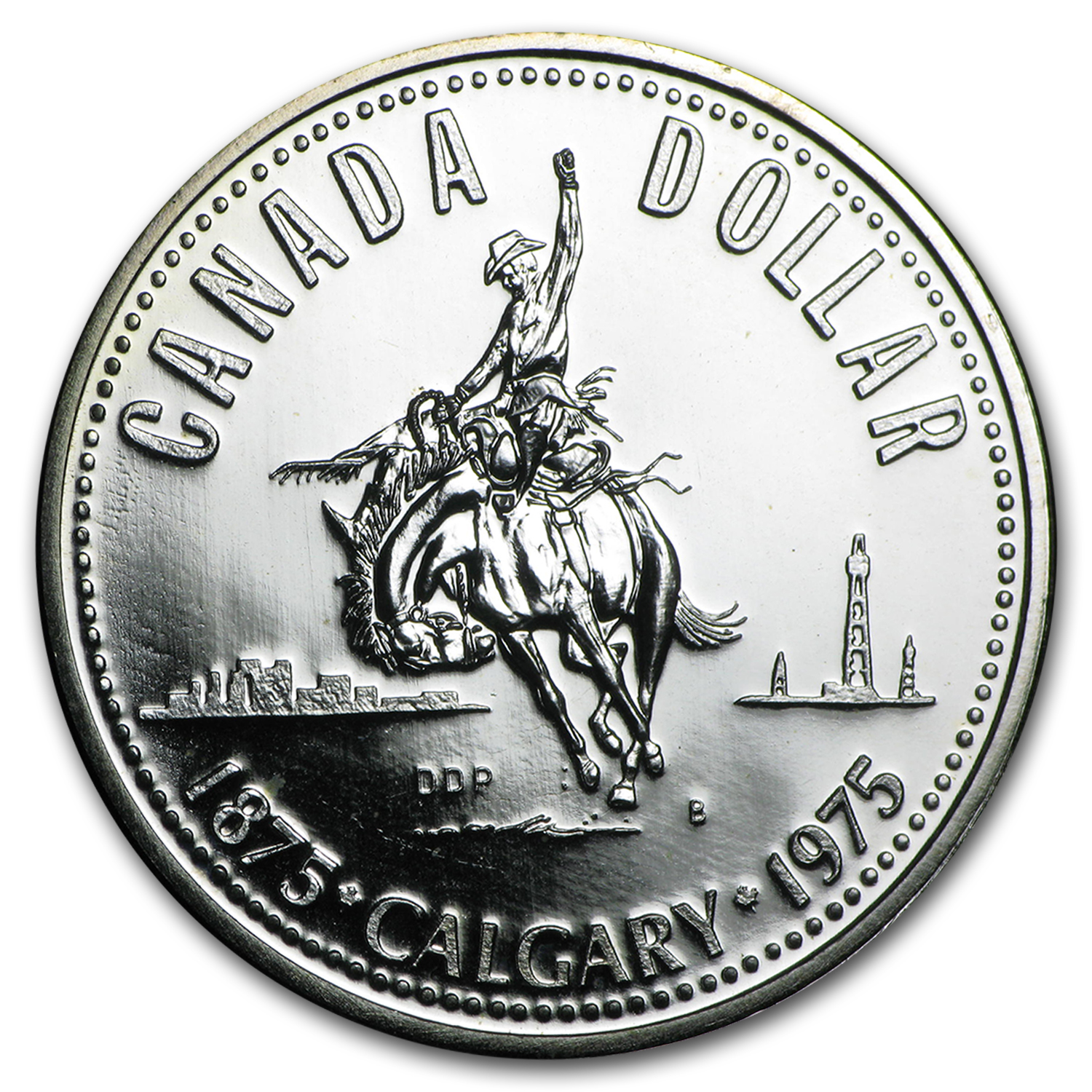 Canada 50% Silver $1 ASW .3750 (Unc &/or Proof) (1968 - 1991)