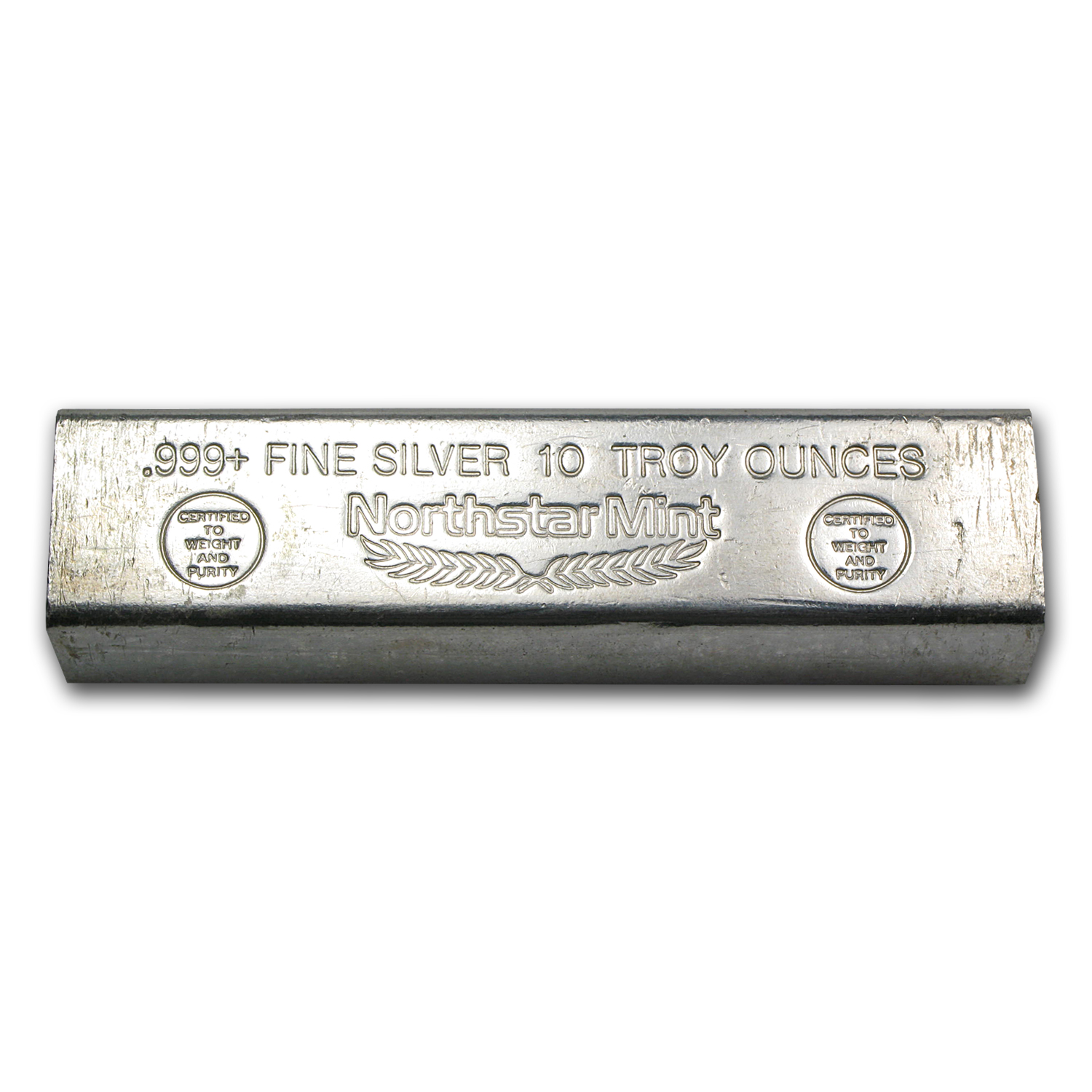 10 oz Silver Bar - Northstar Mint